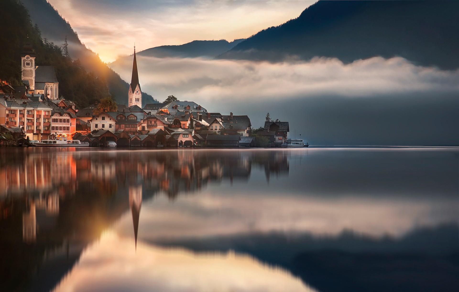 австрия горы обои на рабочий стол № 546428 без смс