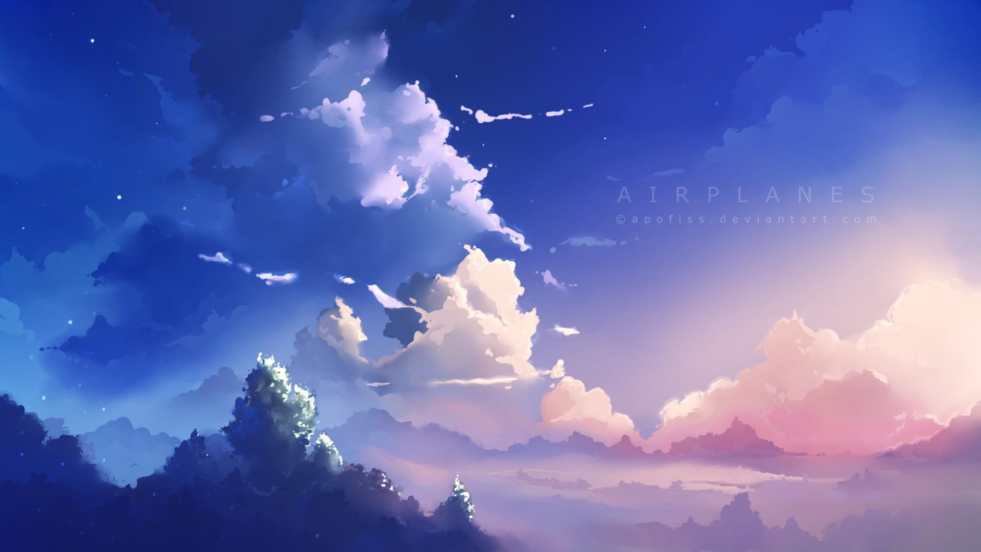 Wallpaper Sinar Matahari Alam Langit Awan Awan Tenang