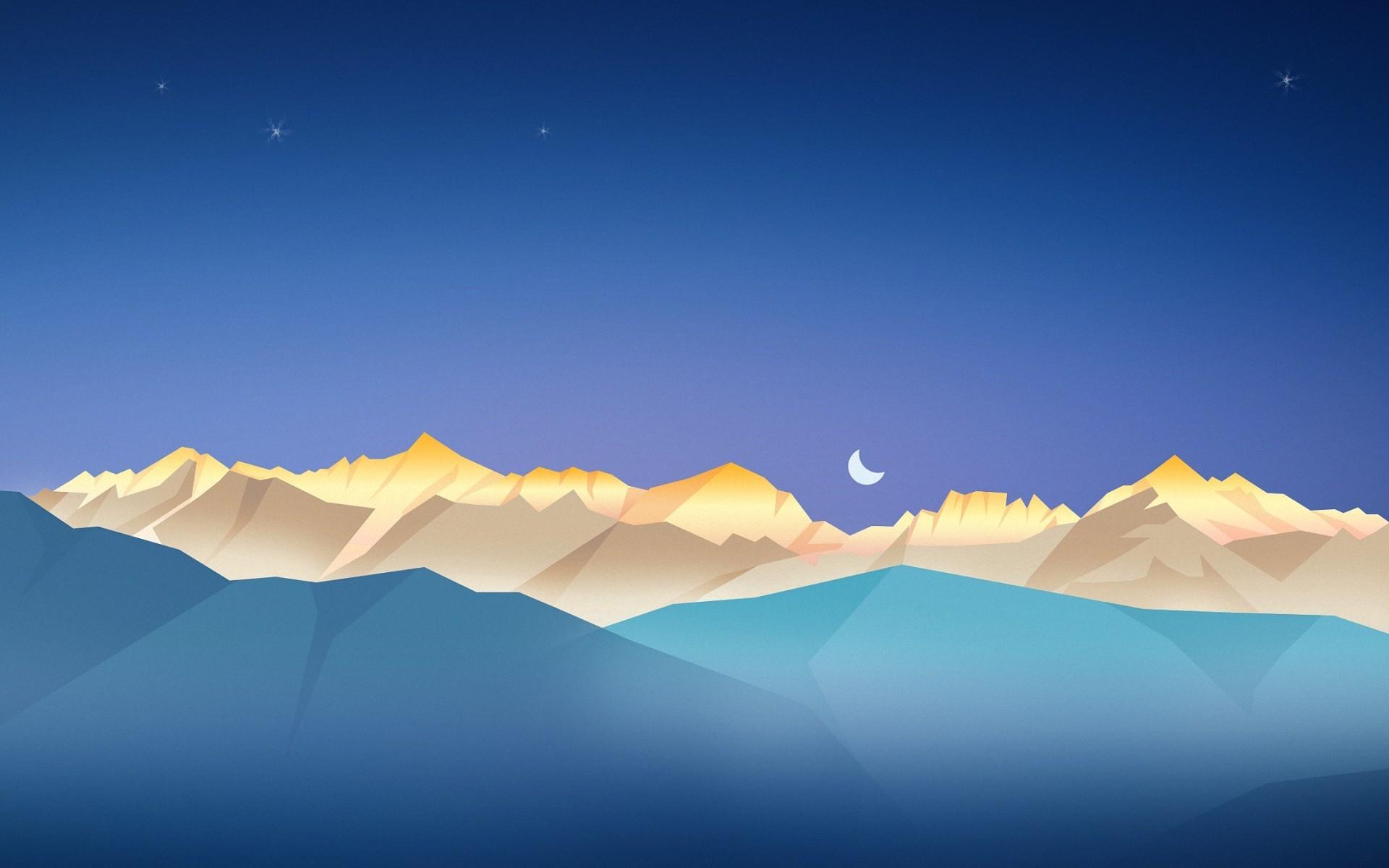 Simple Wallpaper Mountain Minimalistic - sunlight-landscape-night-minimalism-sky-artwork-horizon-atmosphere-plateau-cloud-mountain-plain-screenshot-1920x1200-px-natural-environment-computer-wallpaper-atmosphere-of-earth-ecosystem-mountain-range-620197  Pic_206699.jpg