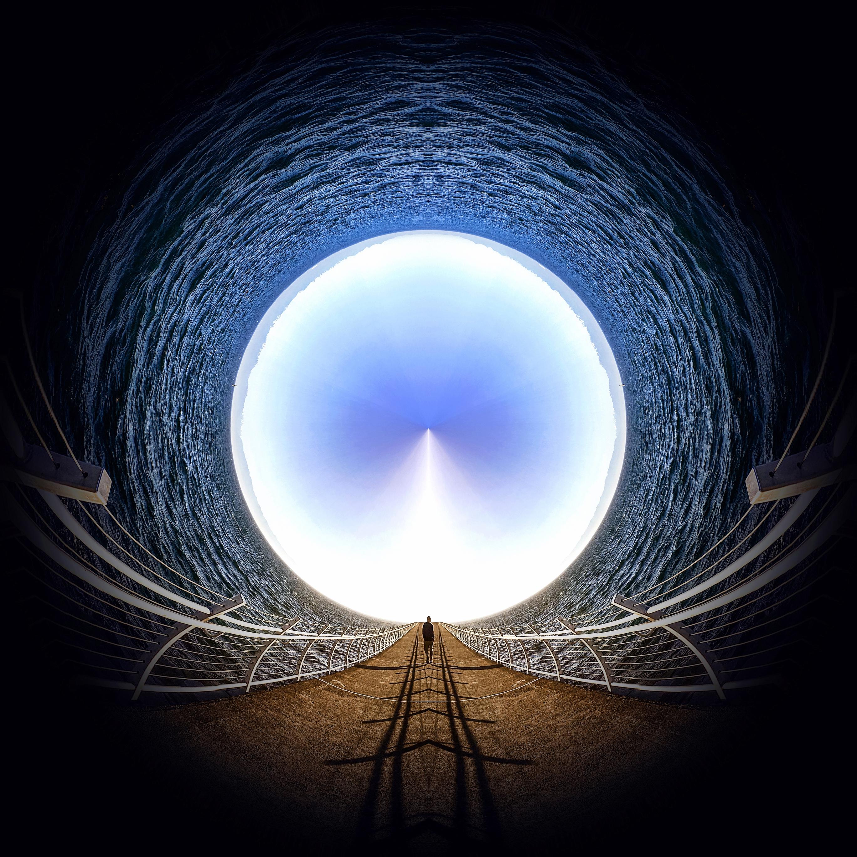 デスクトップ壁紙 日光 風景 人 日没 抽象 反射 空 道路 球 対称 青 イブニング ブリッジ 太陽 平方 サークル 雰囲気 パノラマ 夏 Iphone 桟橋 トンネル パス 歩く 出口 平静 色 穏やかな バブル 海洋