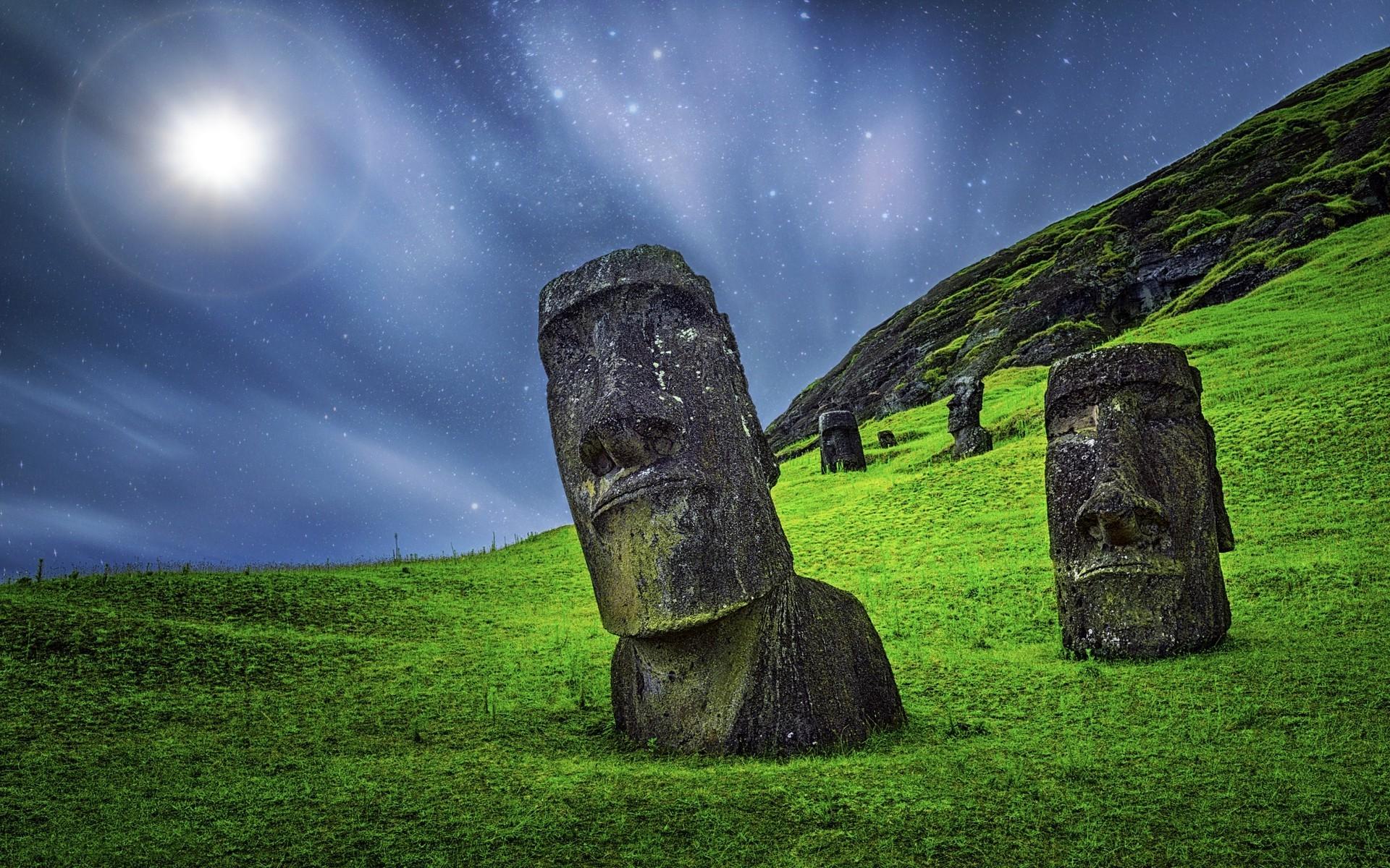 Download Wallpaper Night Grass - sunlight-landscape-rock-nature-grass-sky-long-exposure-sculpture-statue-moonlight-starry-night-stone-Chile-Monolith-Easter-Island-Rapa-Nui-Moai-enigma-light-darkness-screenshot-1920x1200-px-computer-wallpaper-622854  Gallery-169887.jpg