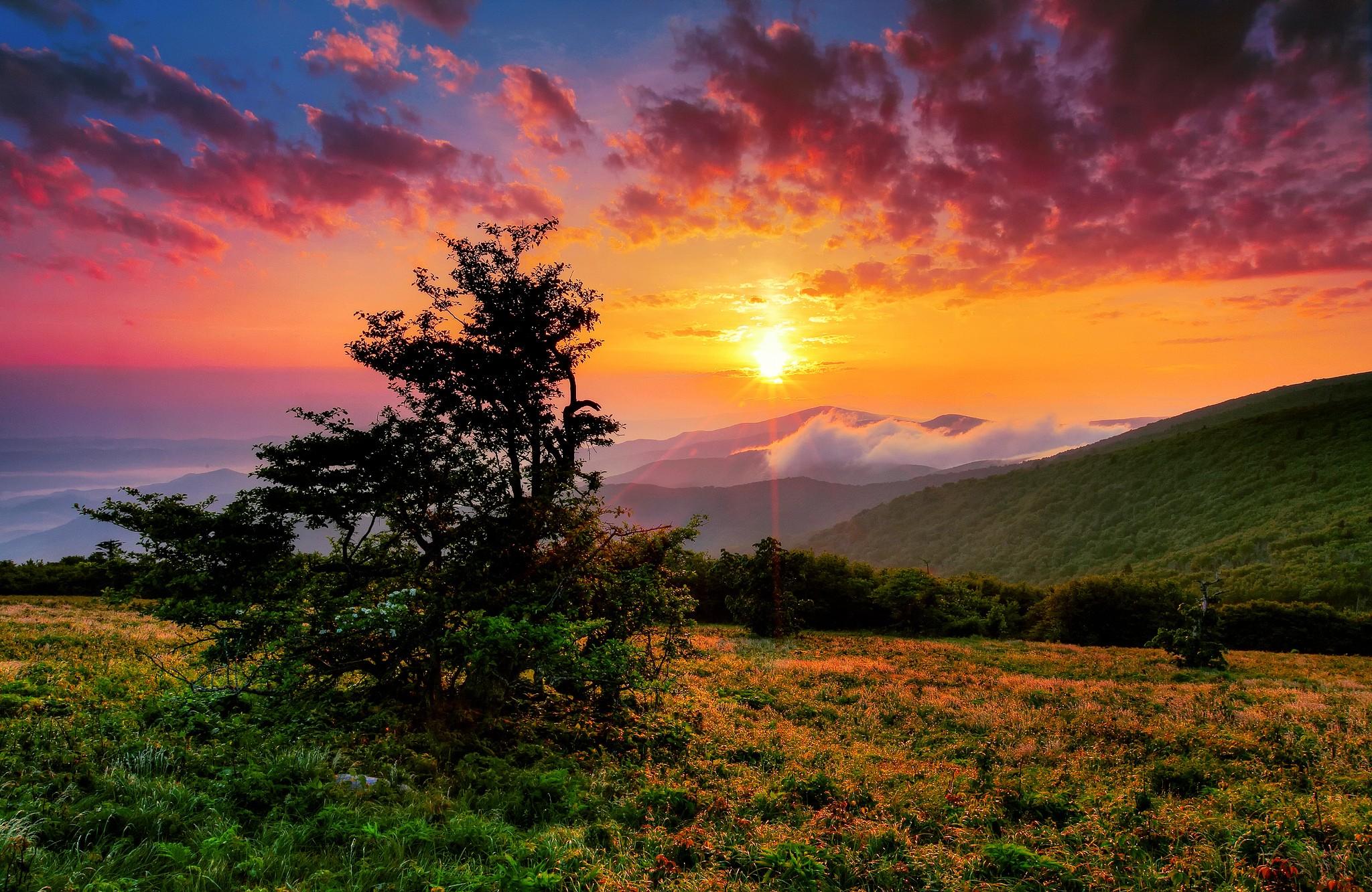 картинка пейзаж солнце сапфиры это