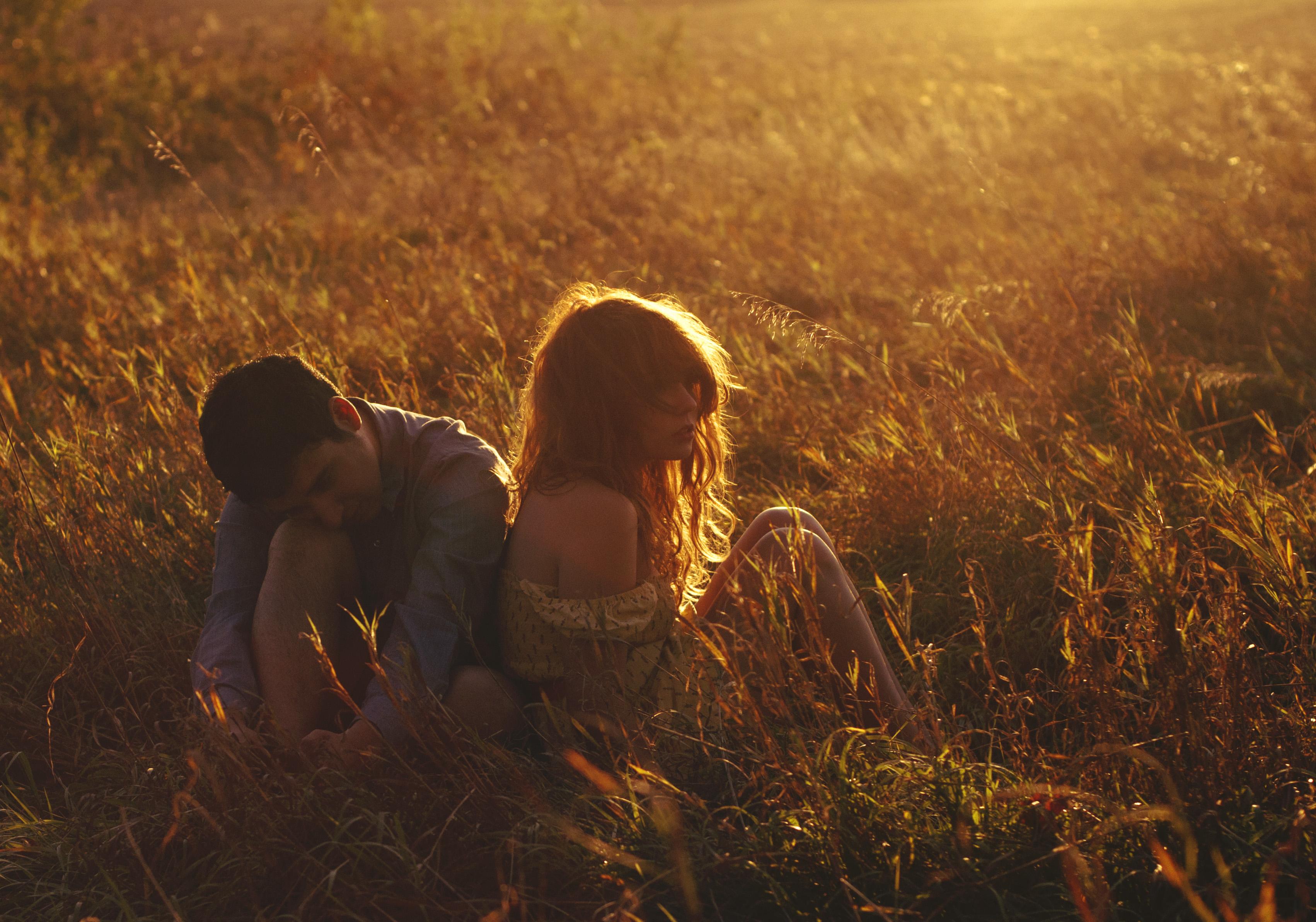 Картинки любовь в поле