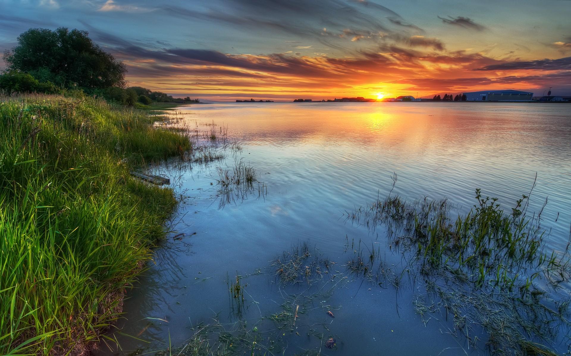 Картинки речки и солнца
