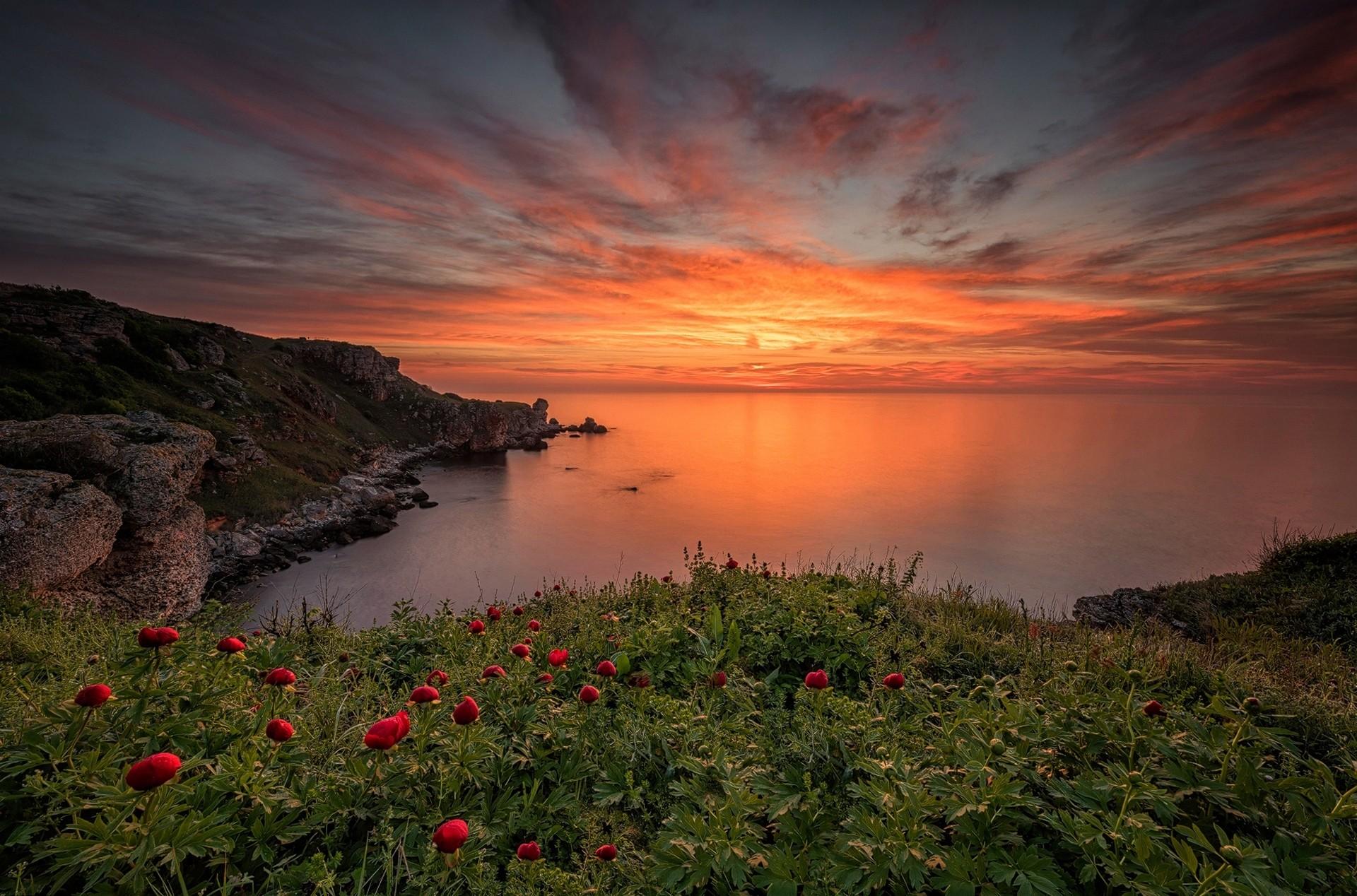 фото крым лето закаты и рассветы множество типовых