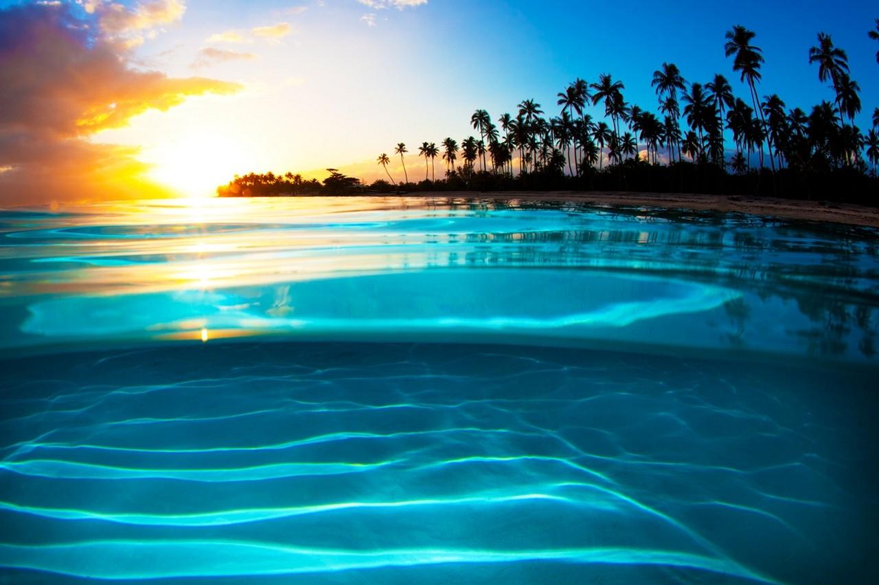 Fond d'écran : lumière du soleil, paysage, le coucher du ...