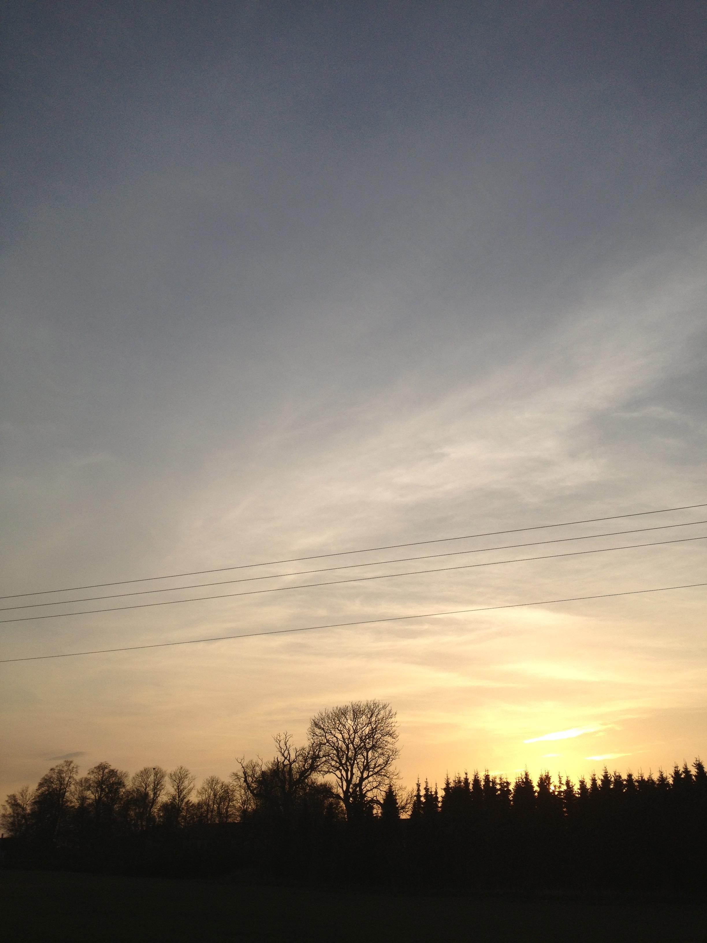 Wallpaper Sunlight Landscape Sunset Field Sunrise Evening