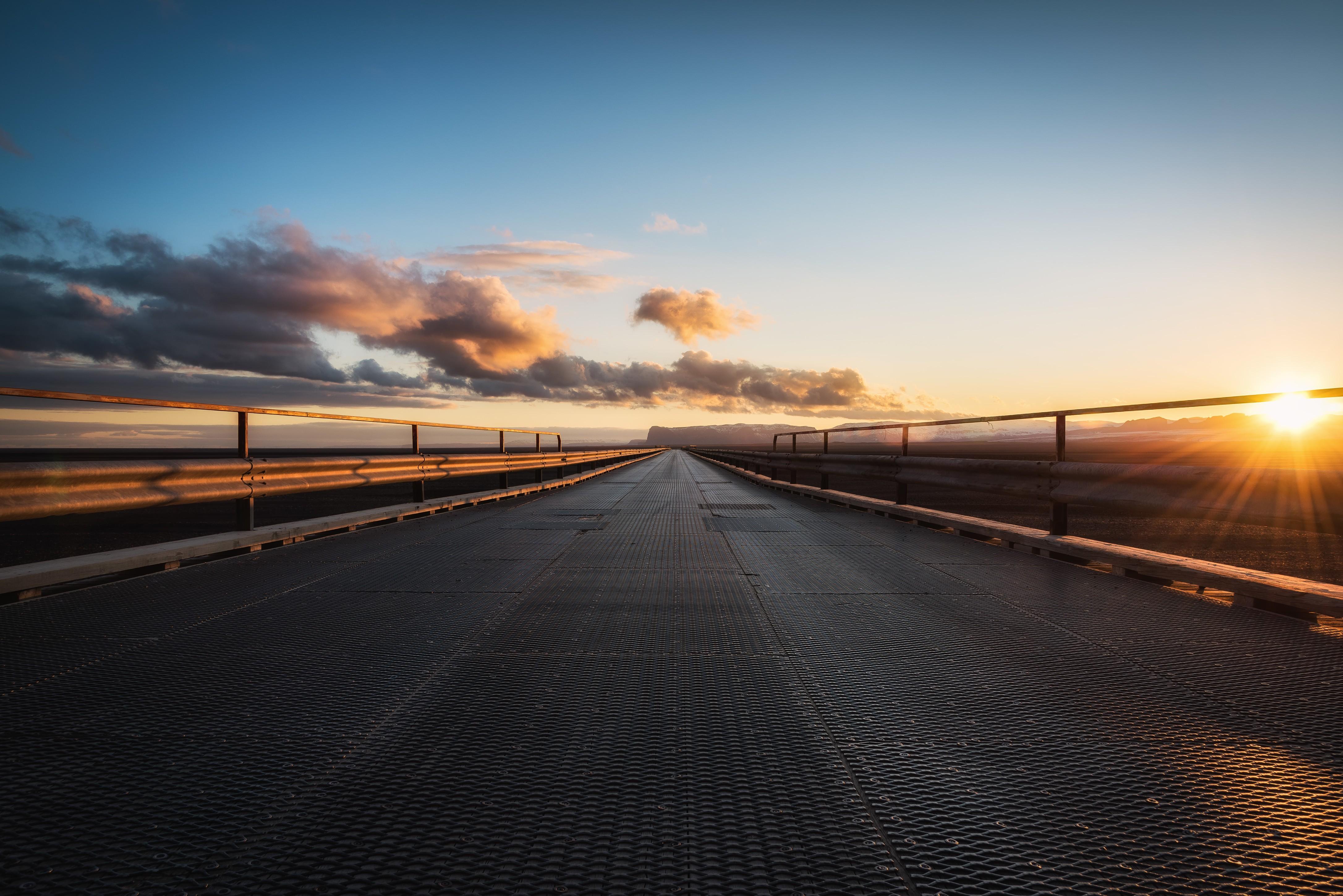 фото закат на дороге свежими нотками вкусе