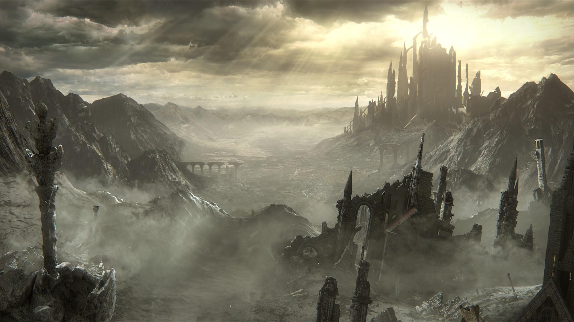 The Ringed City Wallpaper: Hintergrundbilder : Sonnenlicht, Landschaft, Videospiele