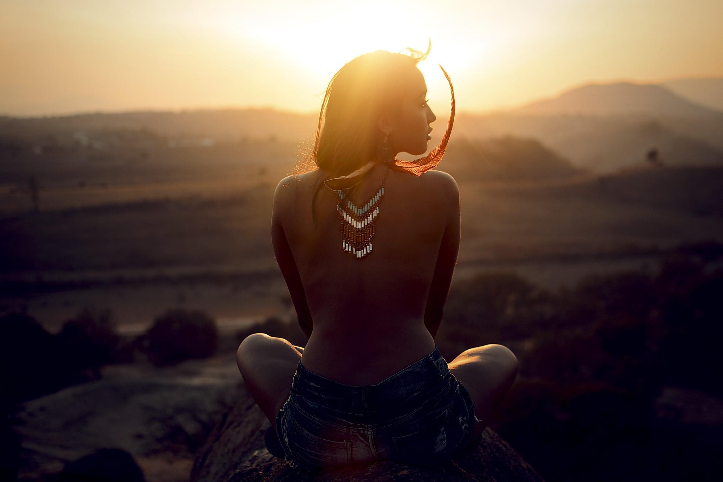Fondos de pantalla : luz de sol, Mujeres al aire libre
