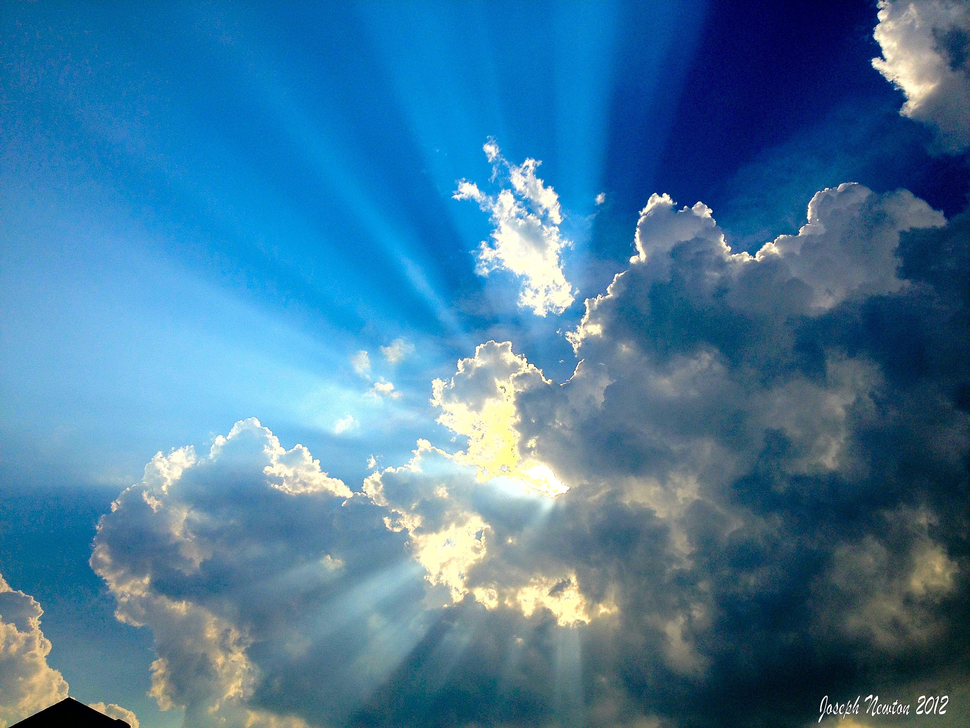 Sfondi Luce Del Sole Natura Cielo Nuvole Calma Blu Sera
