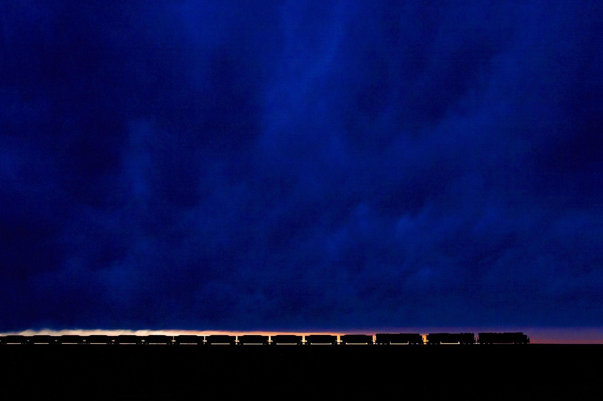 Sfondi Luce Del Sole Notte Minimalismo Riflessione Cielo