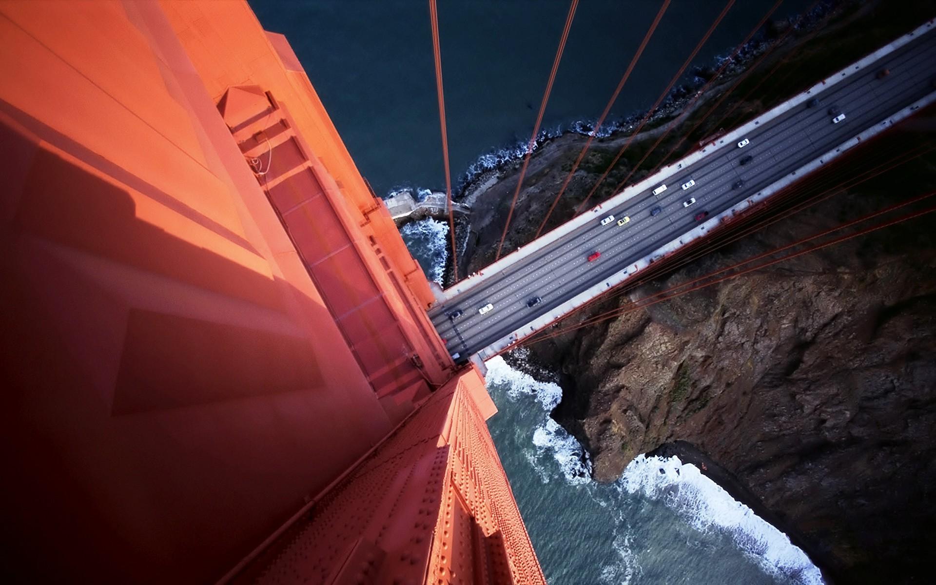 Amazing Wallpaper Night Golden Gate Bridge - sunlight-night-rock-reflection-vehicle-road-blue-bridge-San-Francisco-aerial-view-Golden-Gate-Bridge-light-color-darkness-screenshot-1920x1200-px-Birds-Eye-View-atmosphere-of-earth-529108  HD-26881.jpg