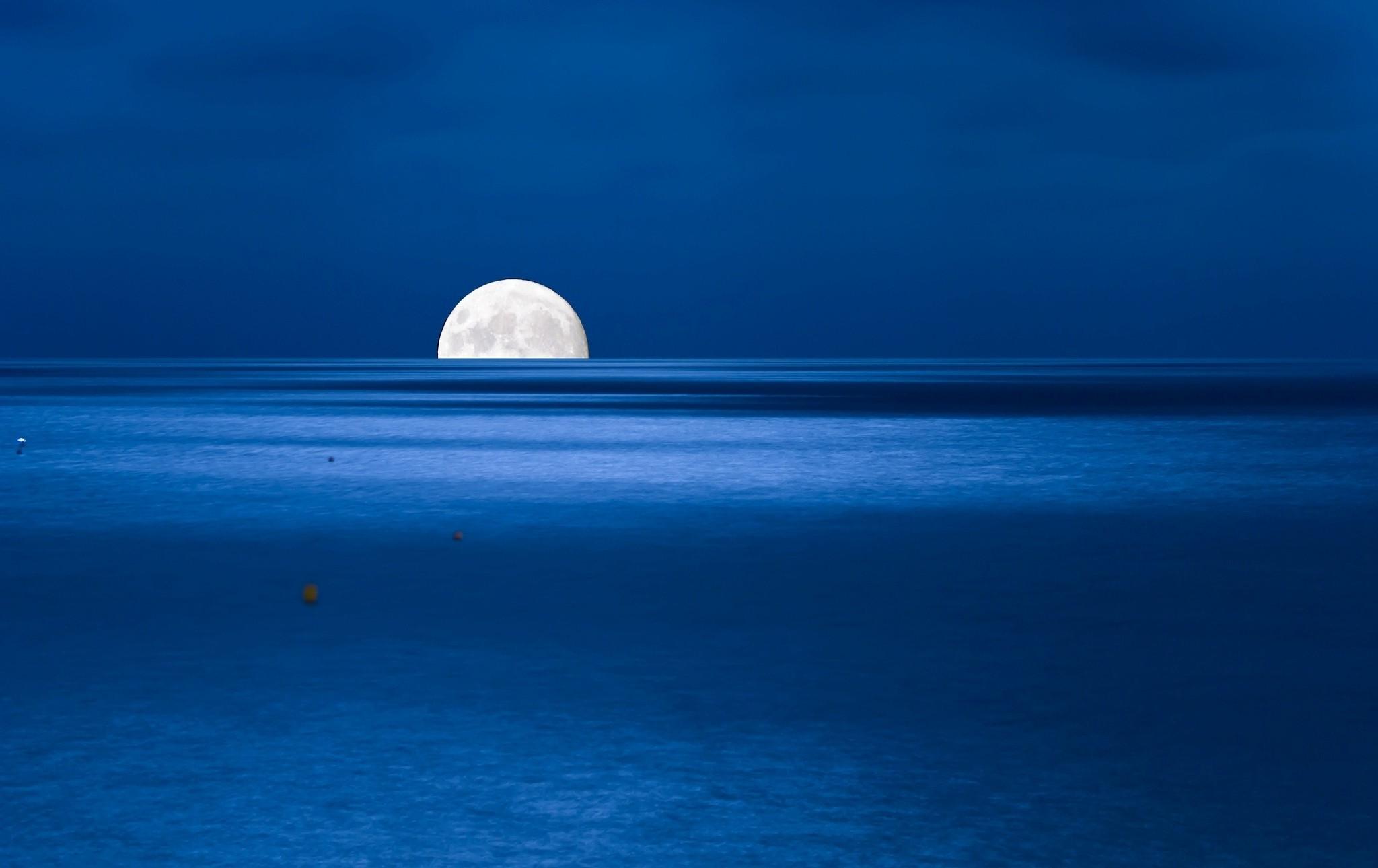 wallpaper : sunlight, sea, night, water, nature, reflection, sky