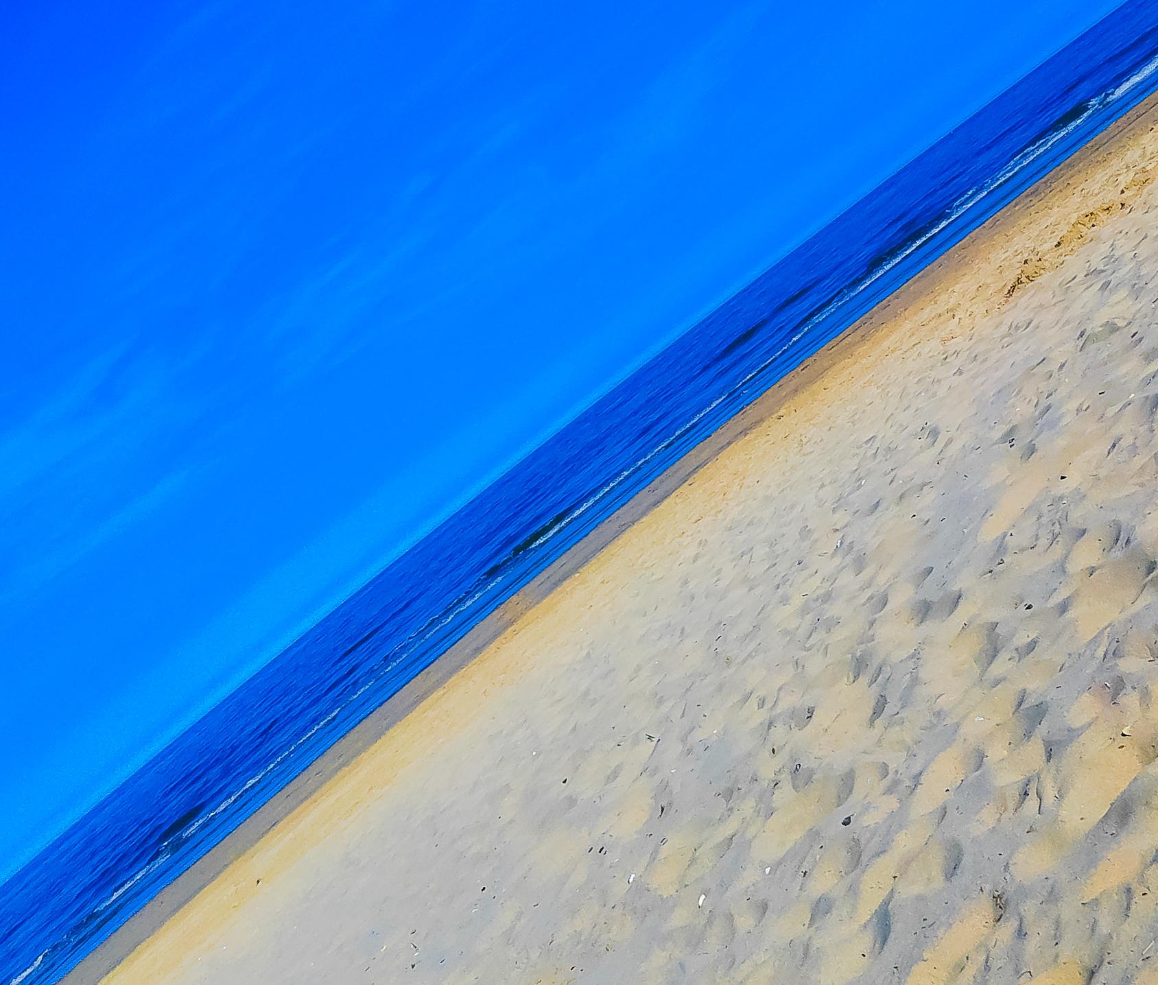 Wallpaper Sunlight Sea Shore Sand Reflection Sky