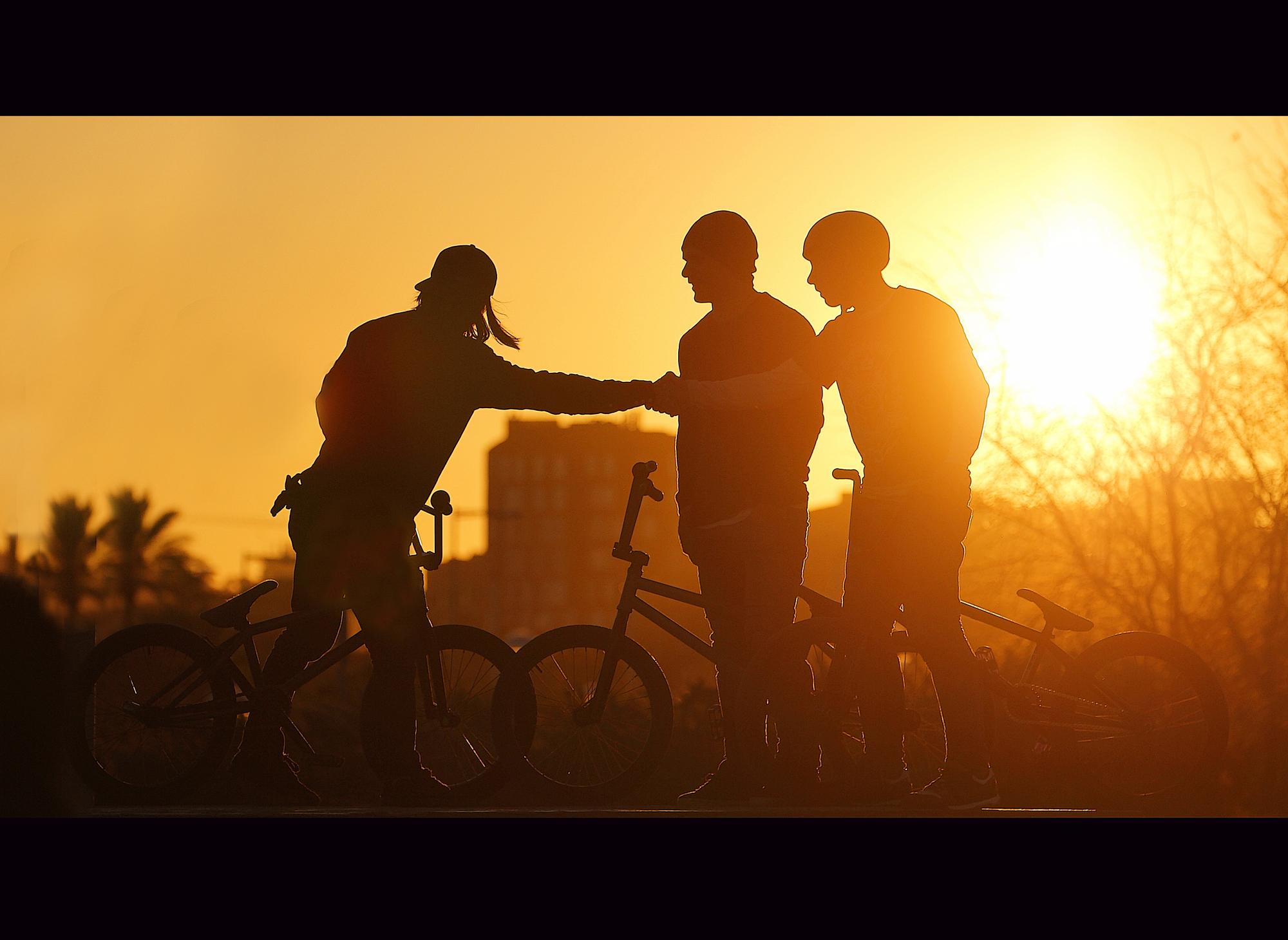 Wallpaper Sunlight Sport Sunset Street Bicycle Urban Love