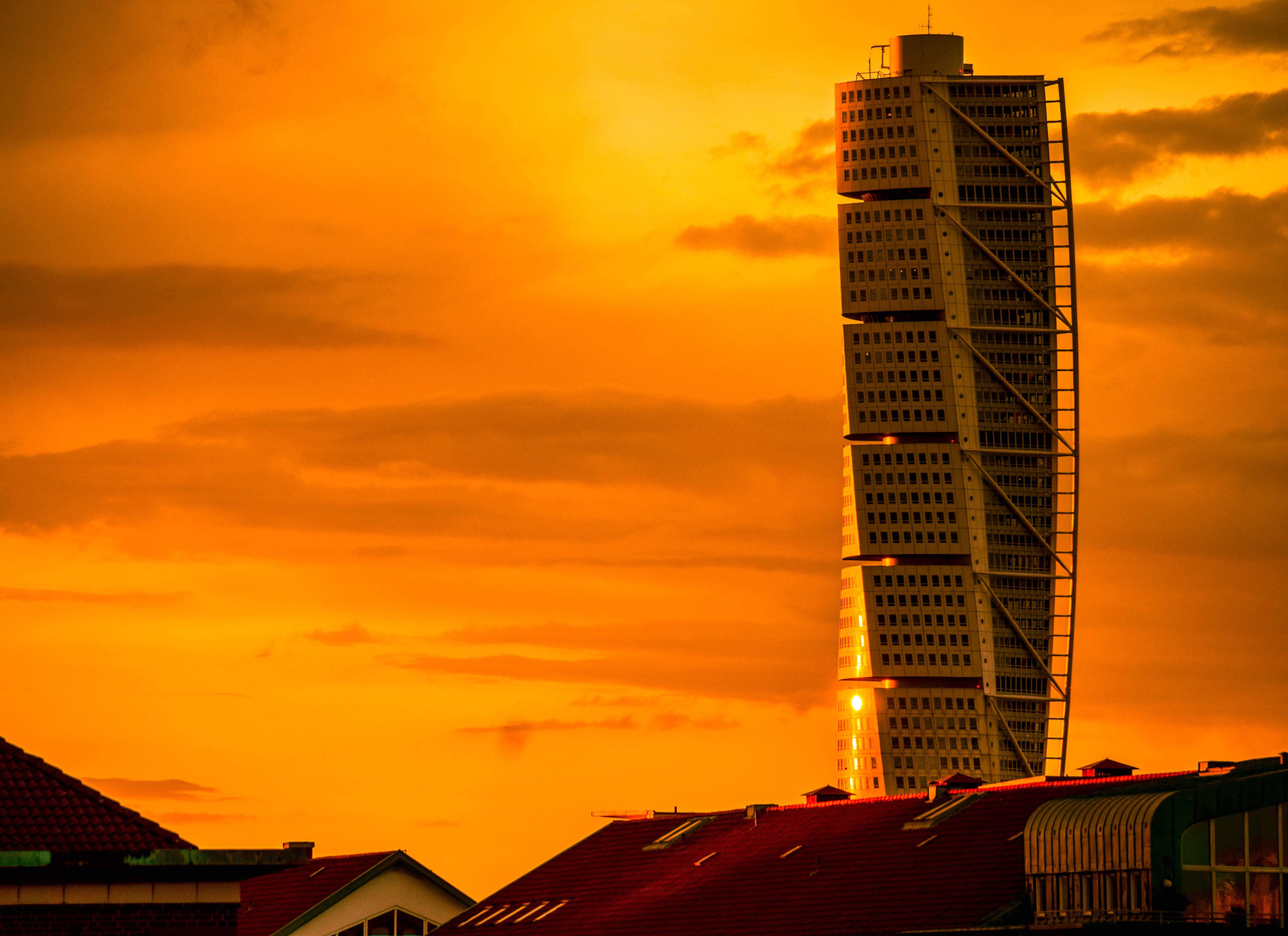 Wallpaper : sunlight, sunset, city, cityscape, night ...