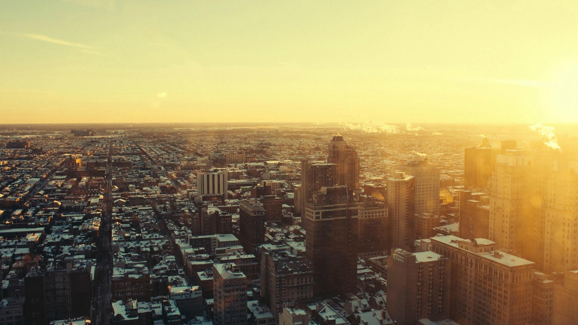 возникновения город рассвет фото обои на телефон умолчанию главная