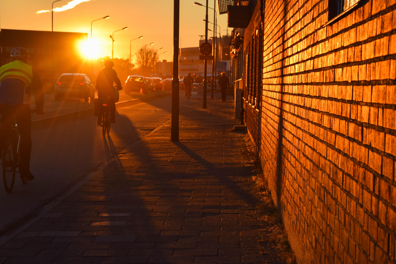 Sunlight Sunset City Street Night Sky Road Evening Morning Sweden Sverige Light Color Outdoor Alley Lighting