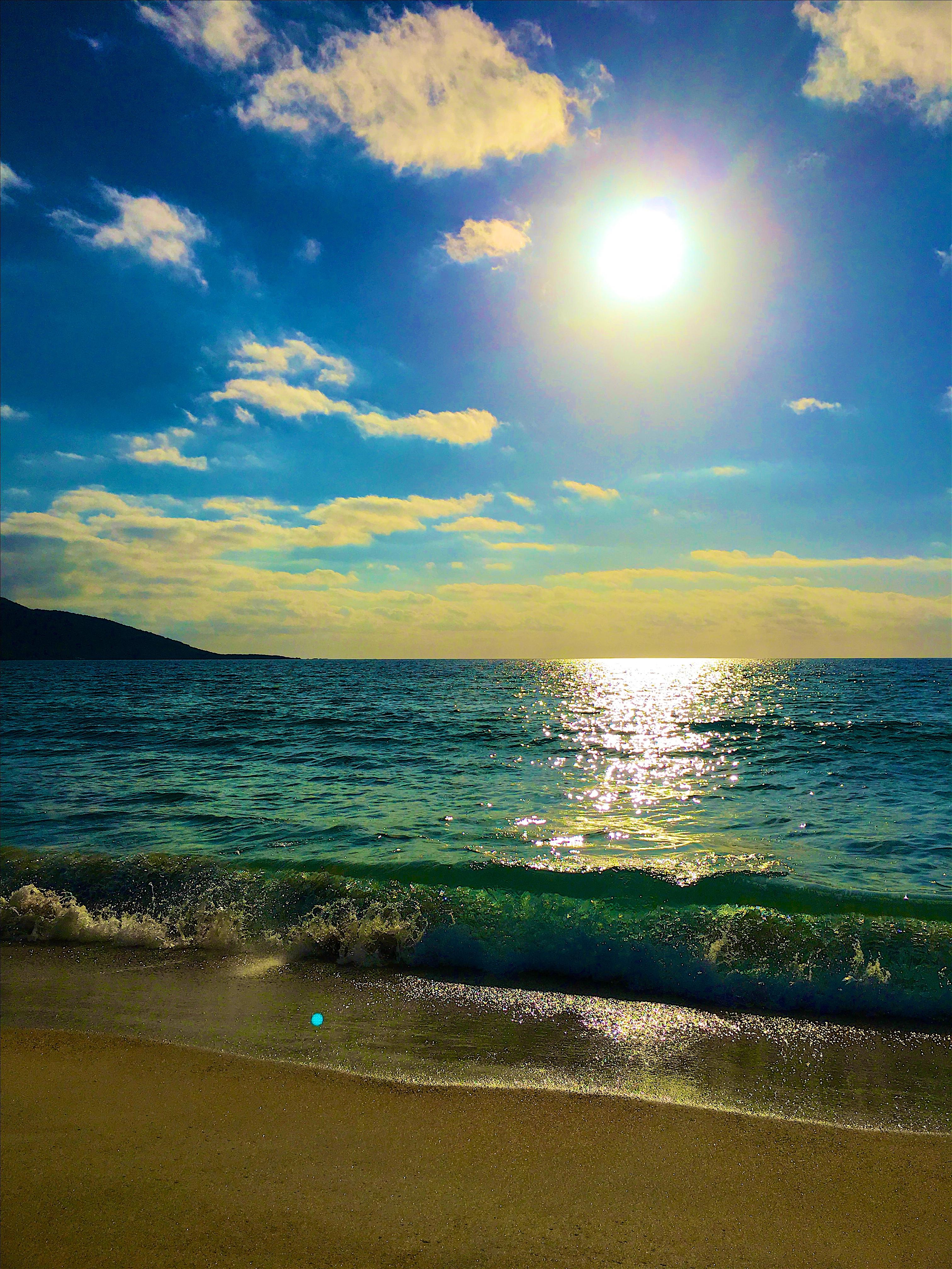 Sfondi Luce Del Sole Tramonto Mare Baia Puntellare Sabbia