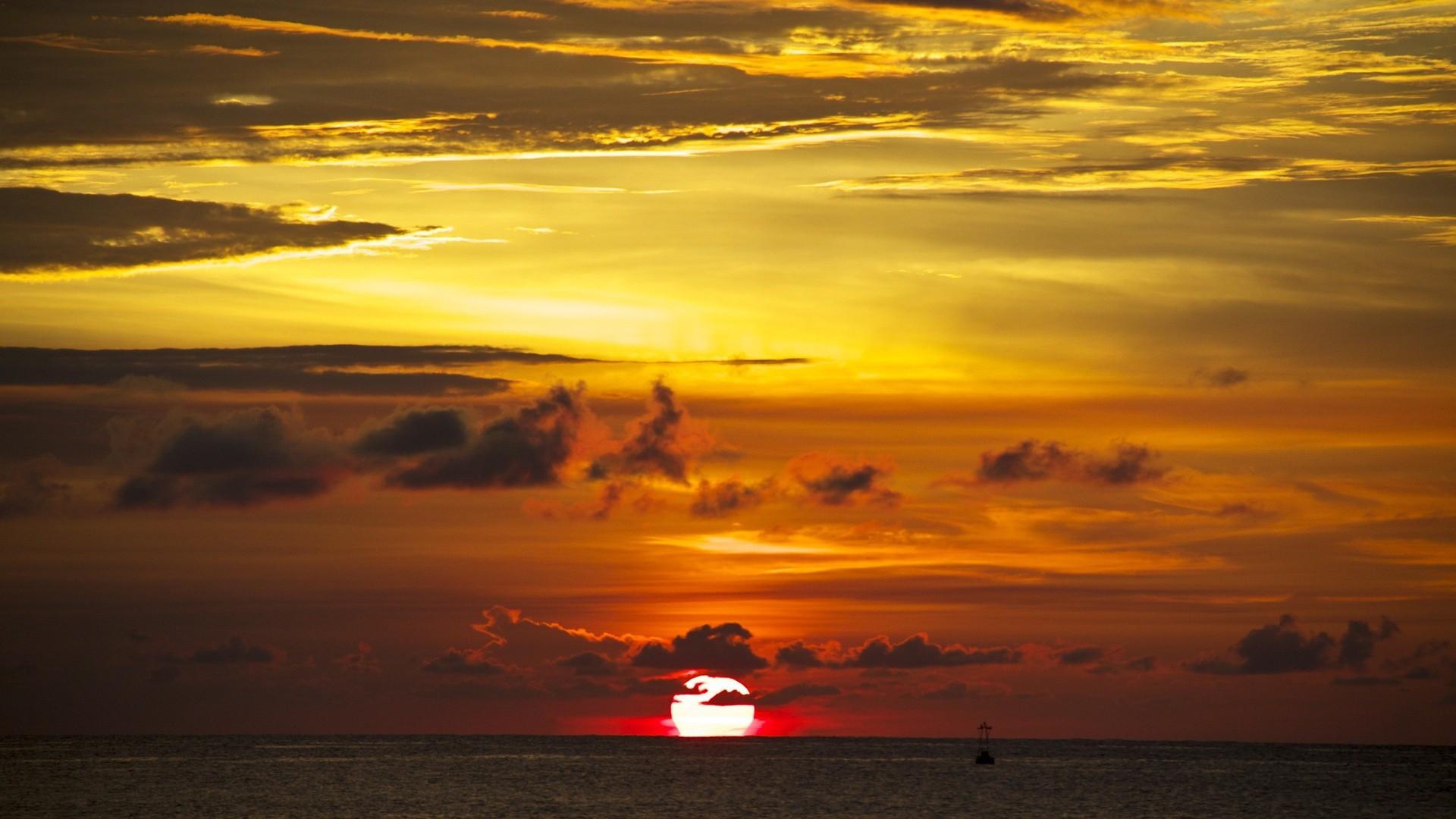 Закат когда закат солнца этим днем