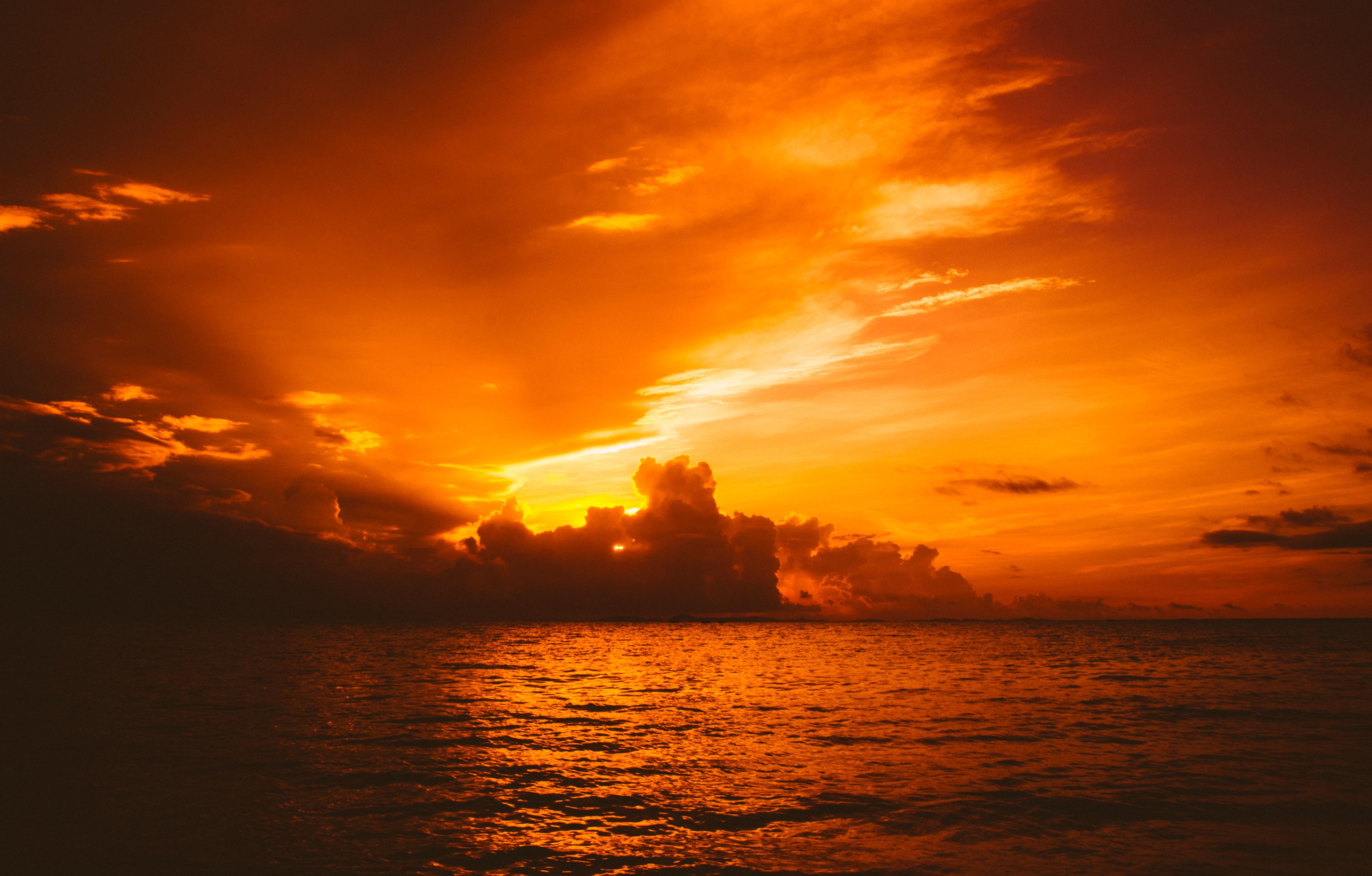 каталоге компании картинки оранжевое небо оранжевое море свадебную