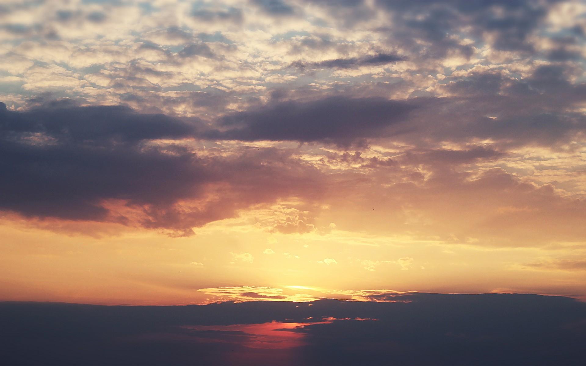 Небо закат картинка