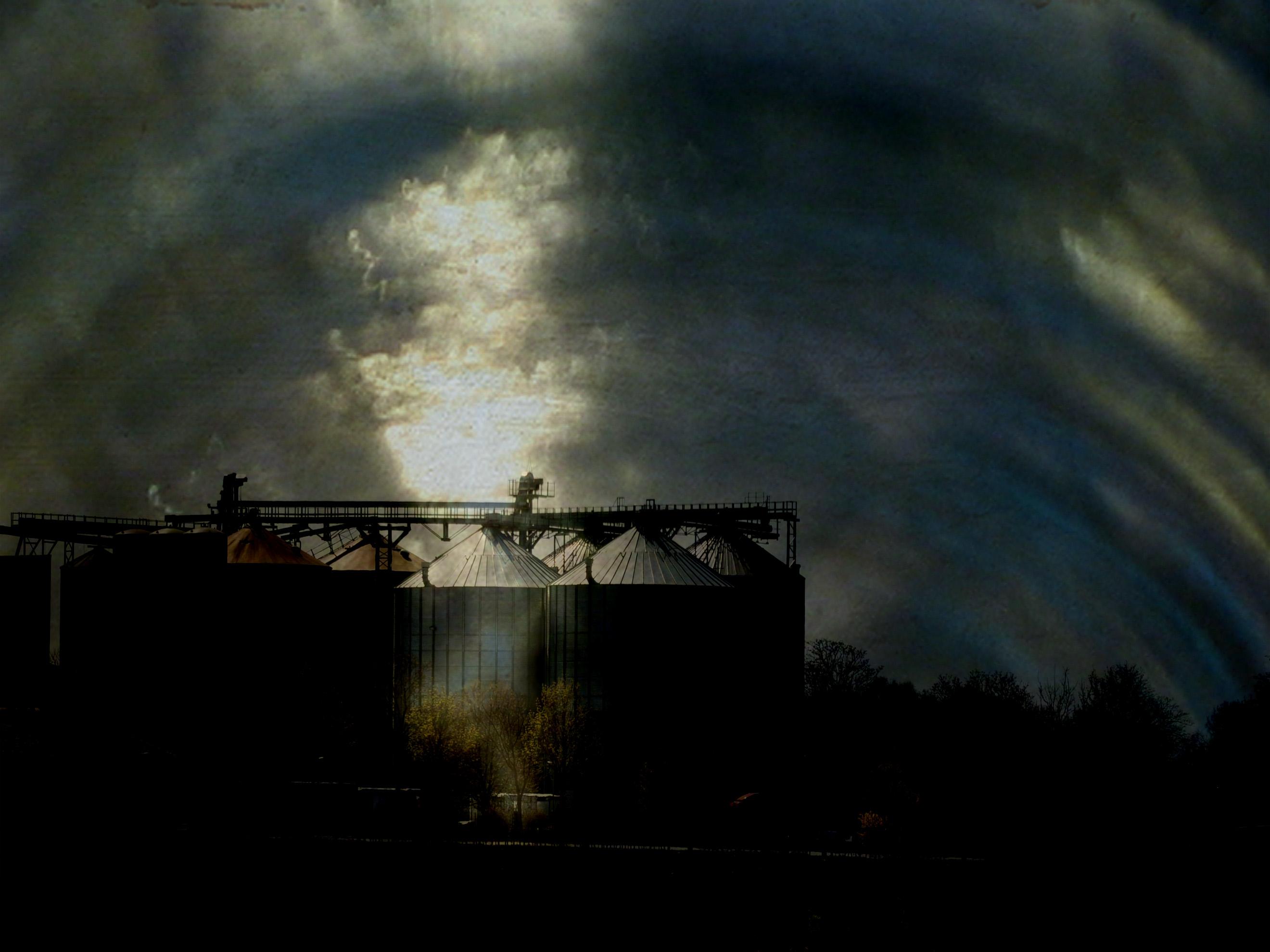 Wallpaper : sunlight, trees, dark, night, reflection, sky