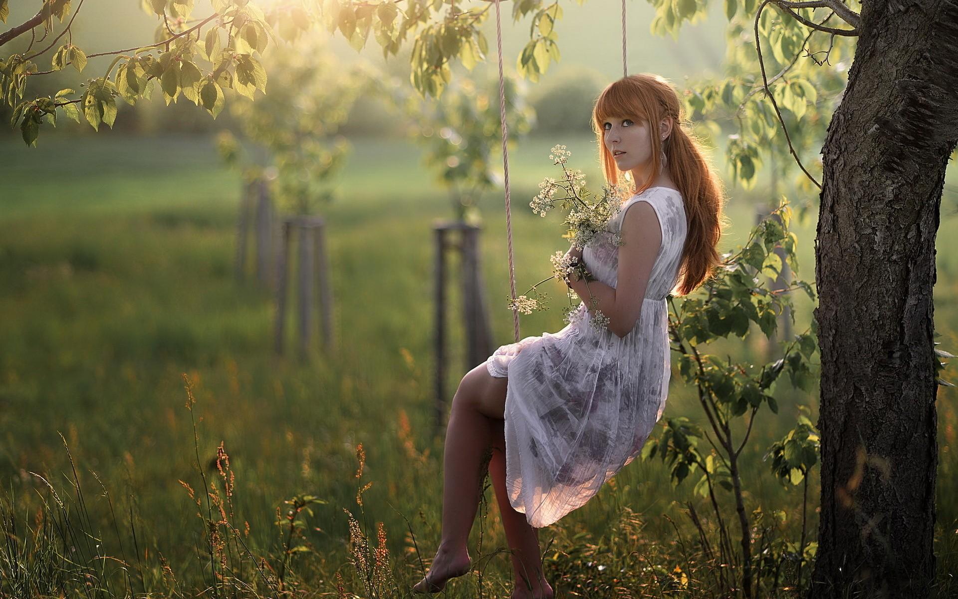 Wallpaper : sunlight, forest, leaves, women outdoors