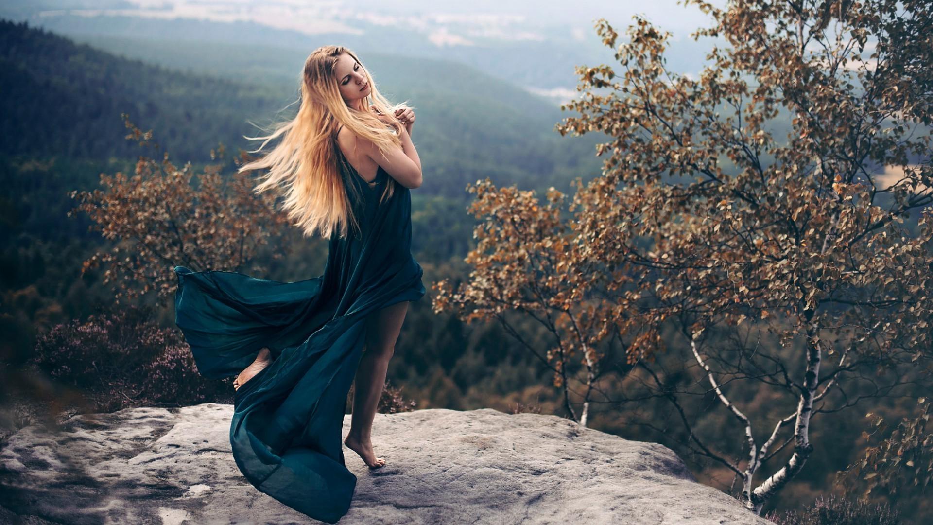 Wallpaper : sunlight, trees, forest, women outdoors