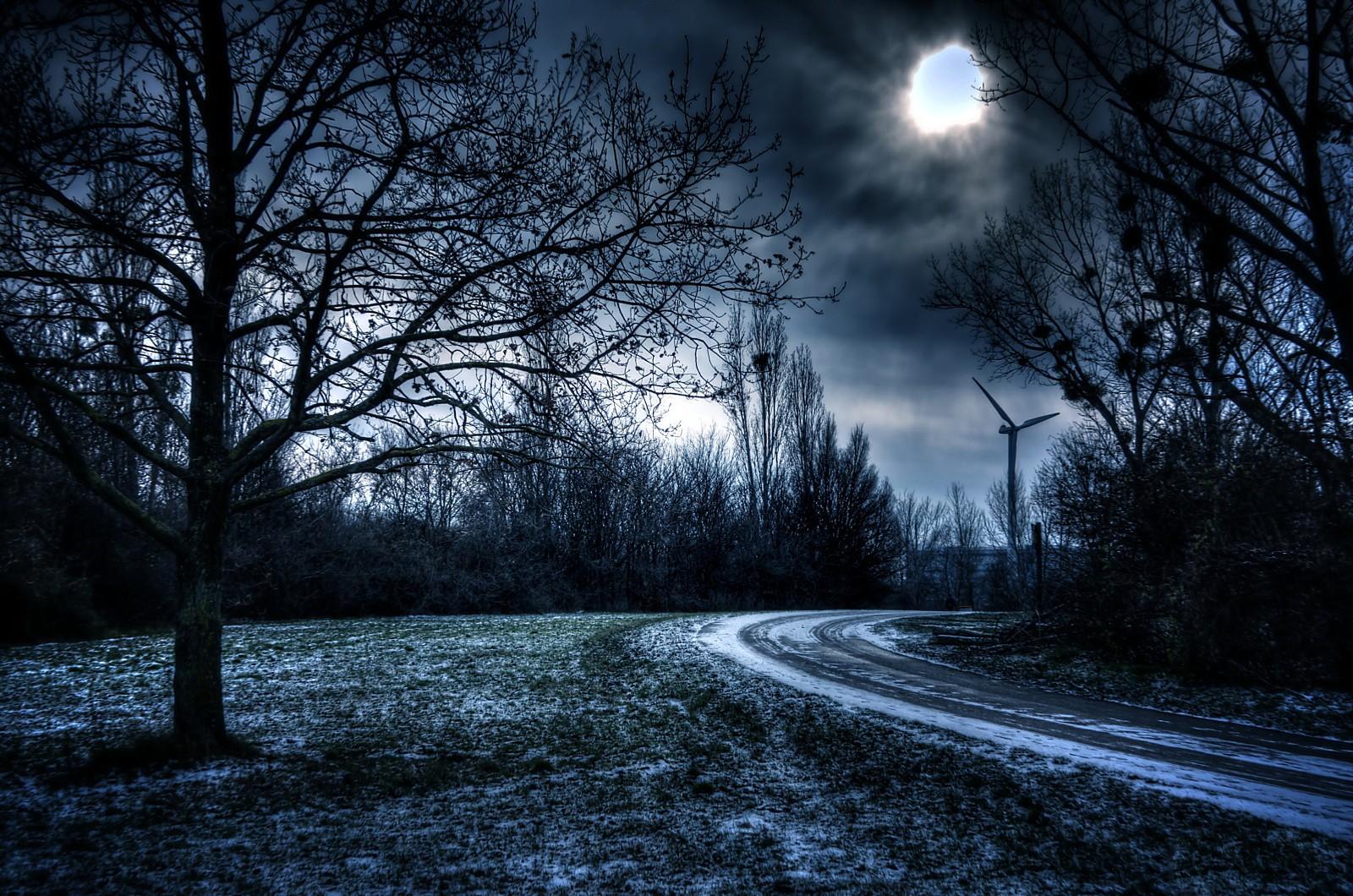 Темная природа картинки