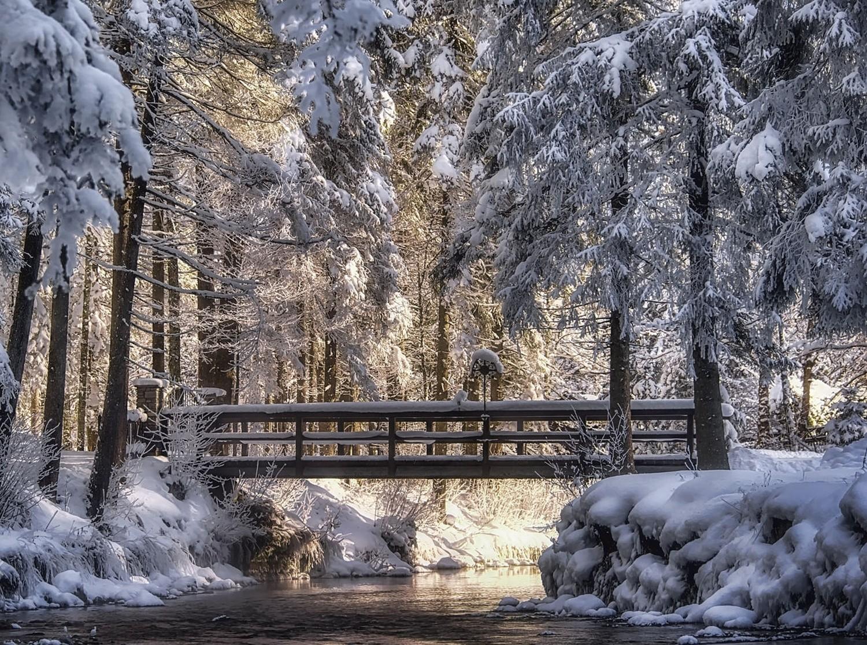 зимняя мостовая картинки всем