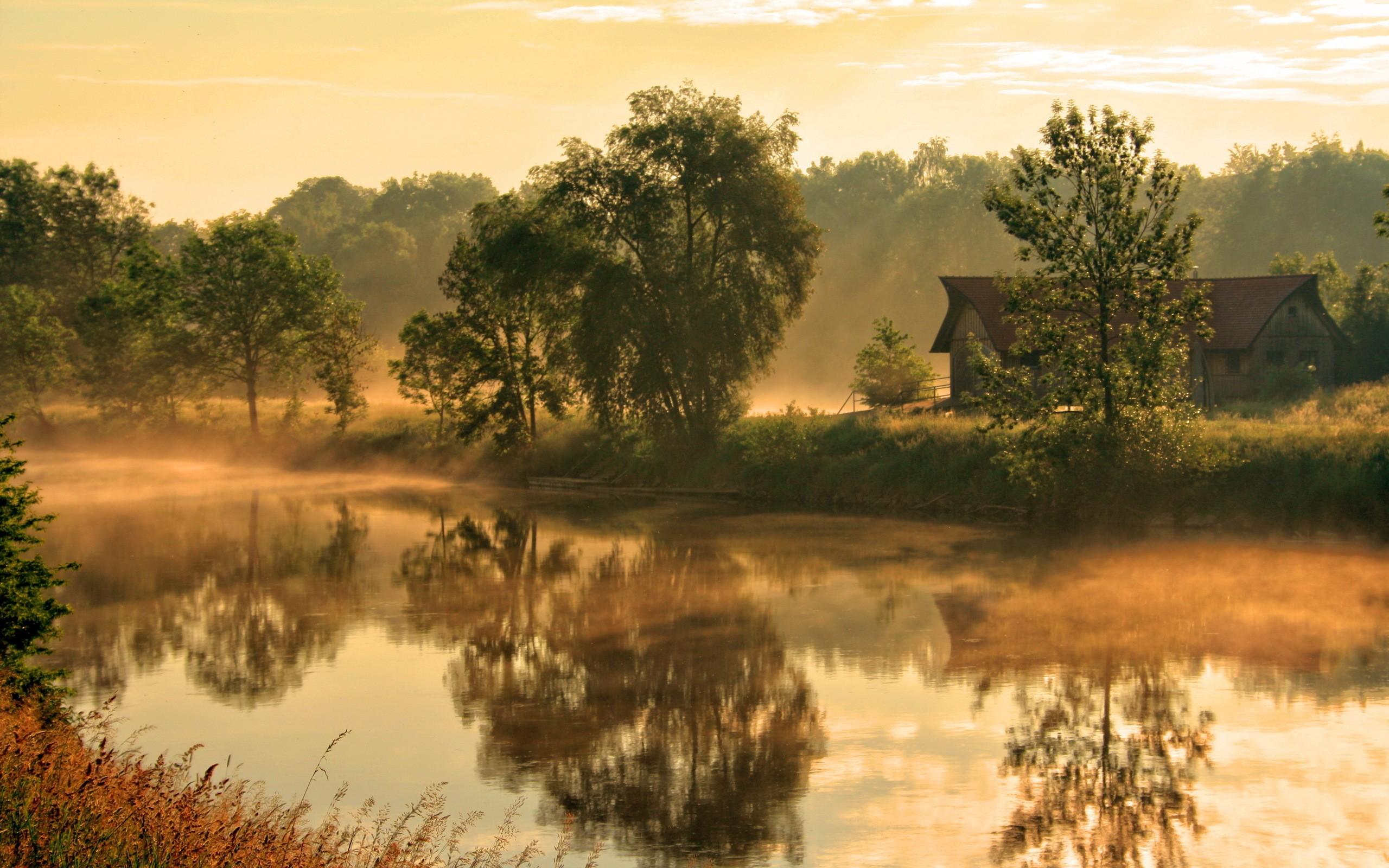 Фотообои деревенский пейзаж