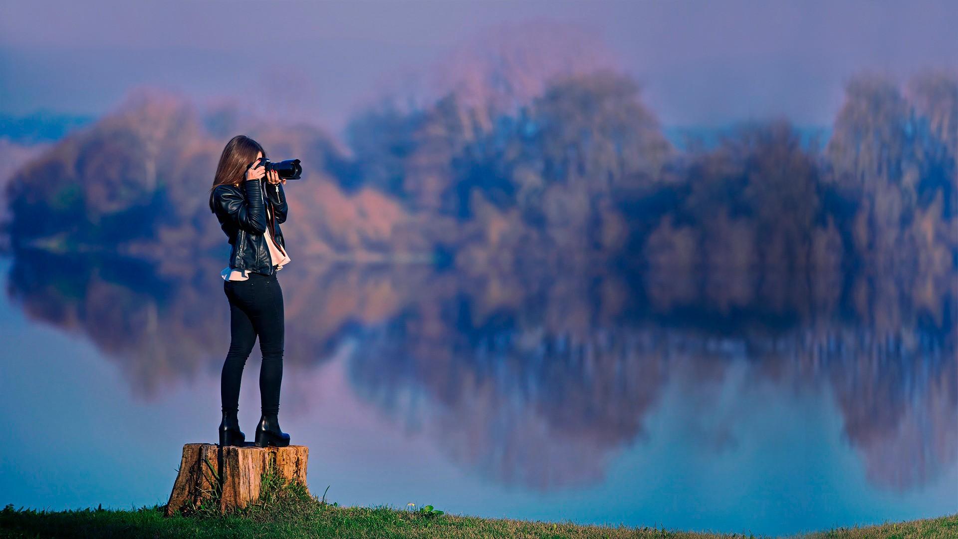 Wallpaper : sunlight, trees, mountains, Photoshop, birds