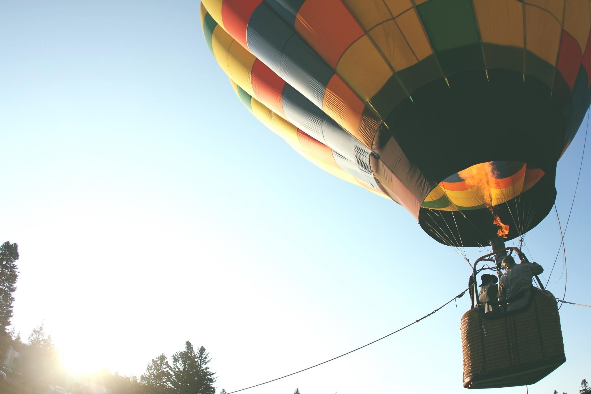 Как сделать воздушный шар который летит