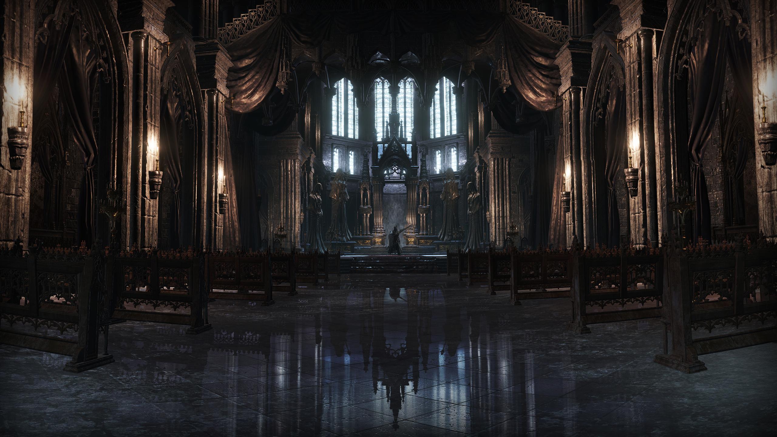 Wallpaper Sunlight Video Games Night Reflection Symmetry