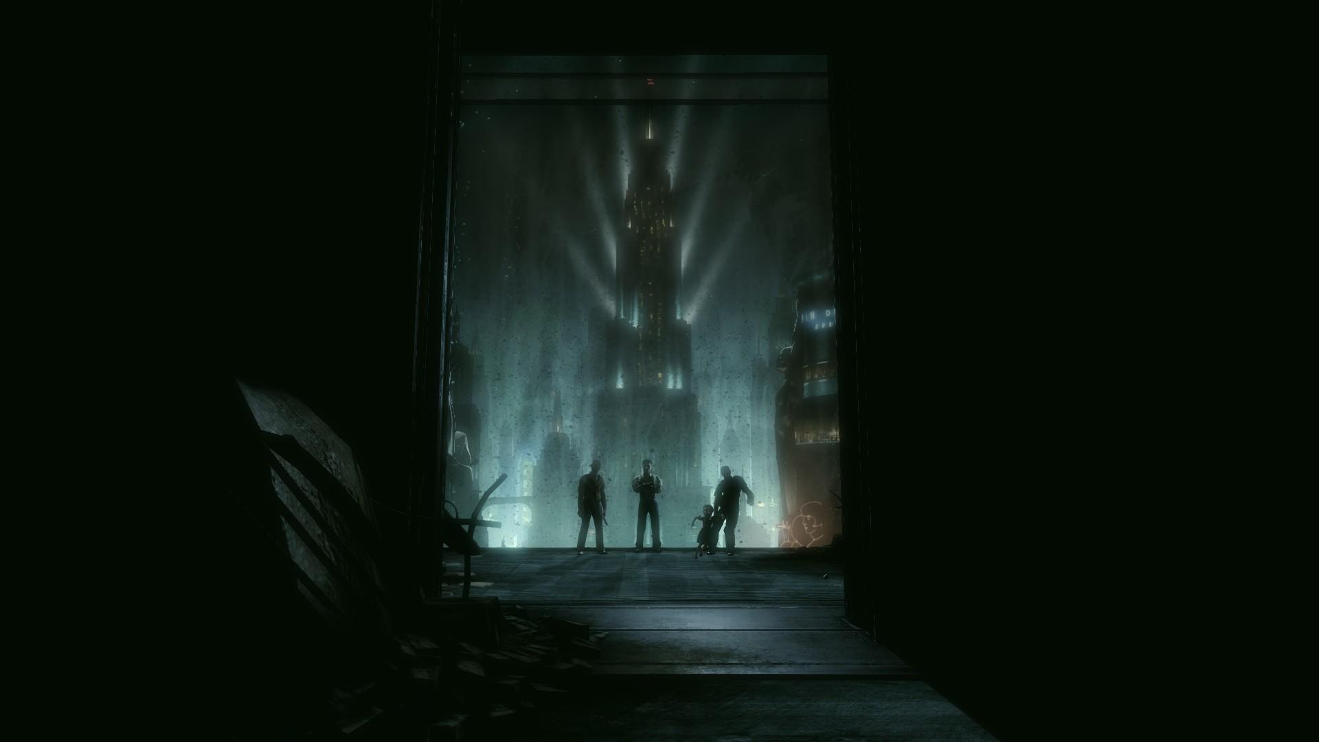 Wallpaper Anime Biohazard Infinite Darkness