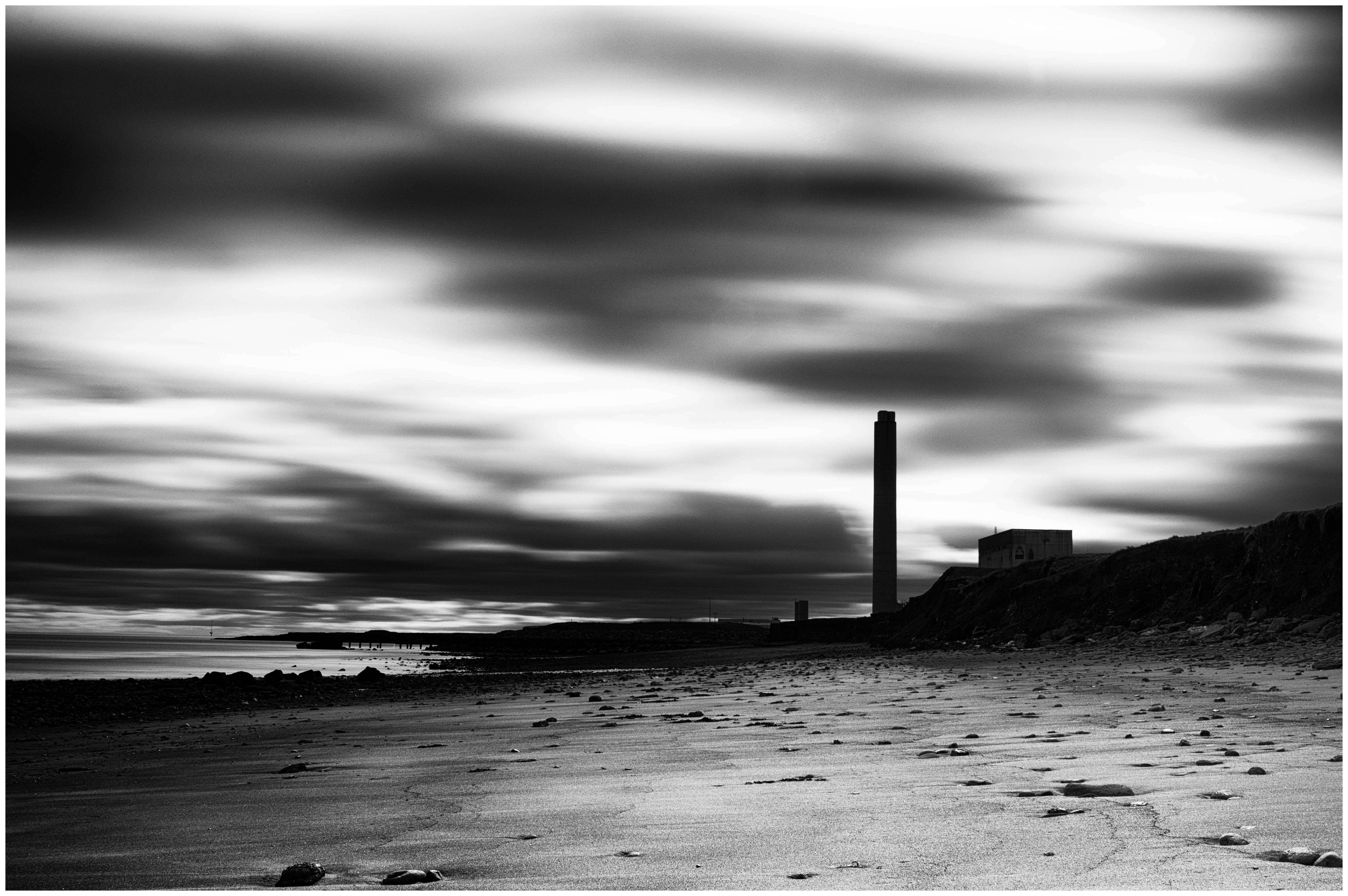 Schwarz weiß fotografie strand
