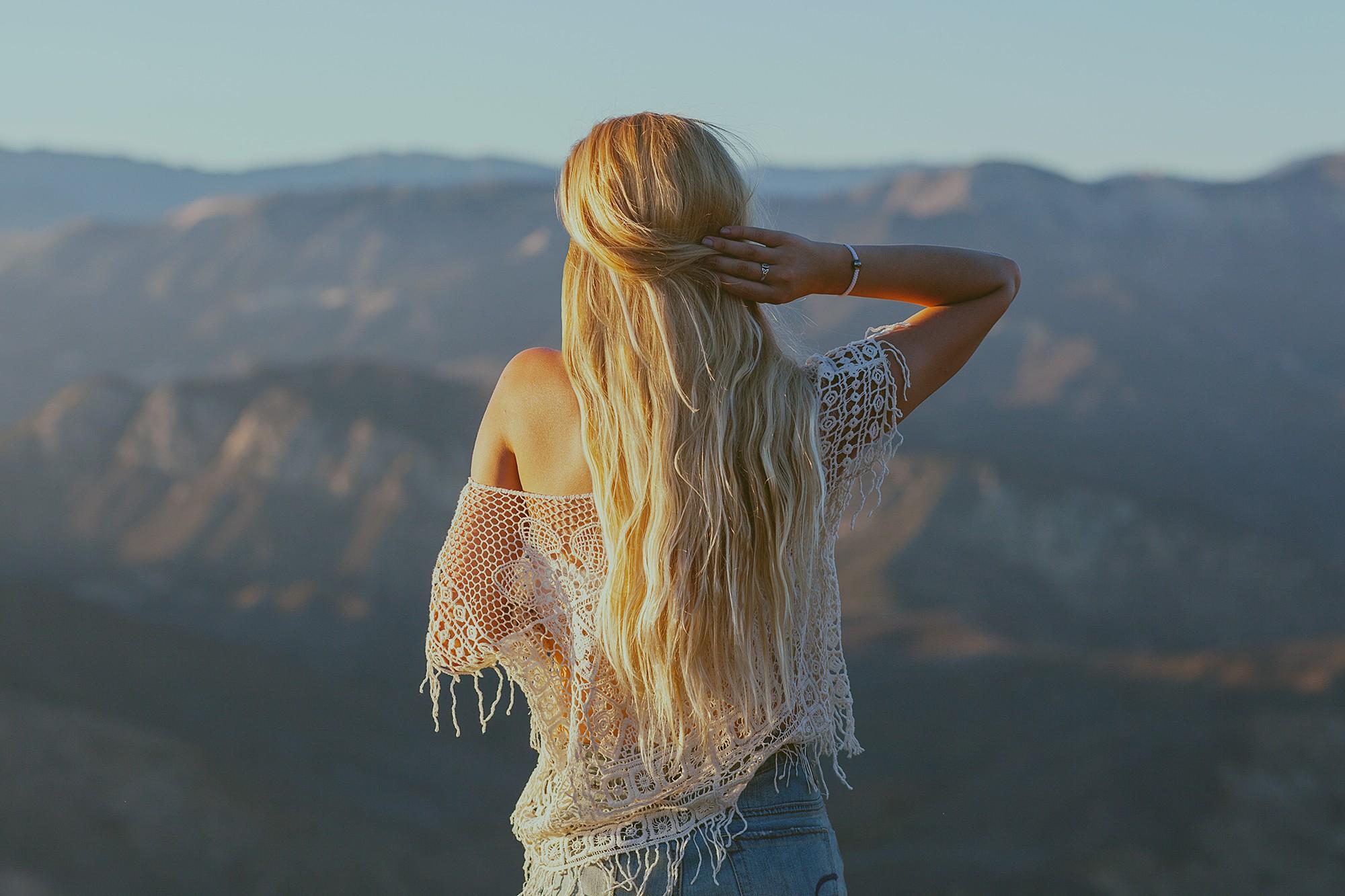 Красивые девушки сзади картинки блондинки — img 6