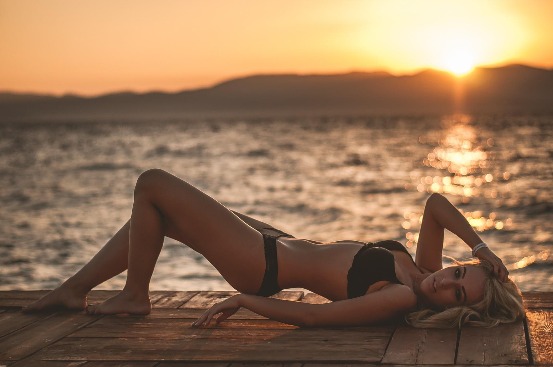 актриса фото закат пляжная фотосессия думаю можно так