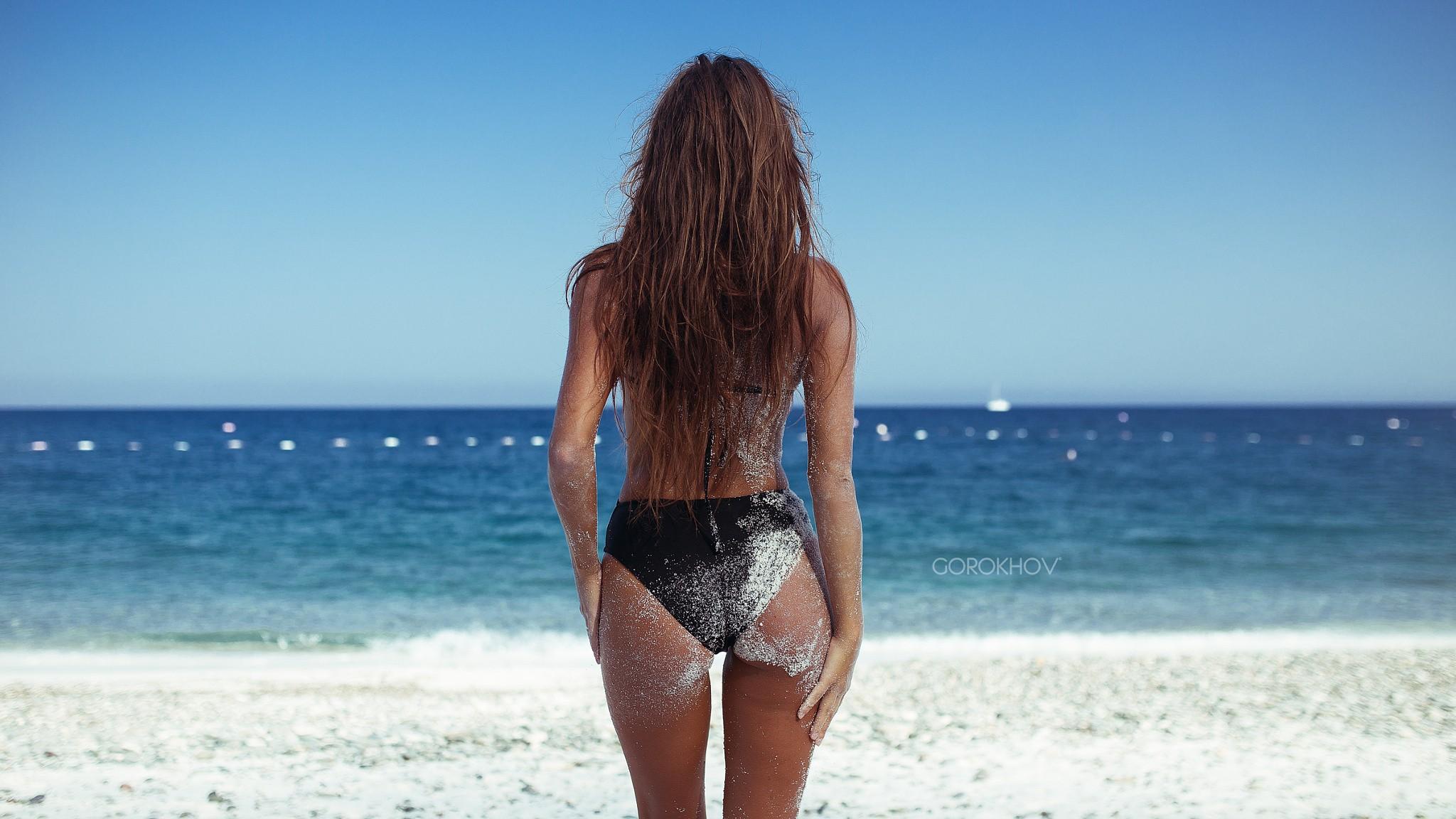Arsch am strand