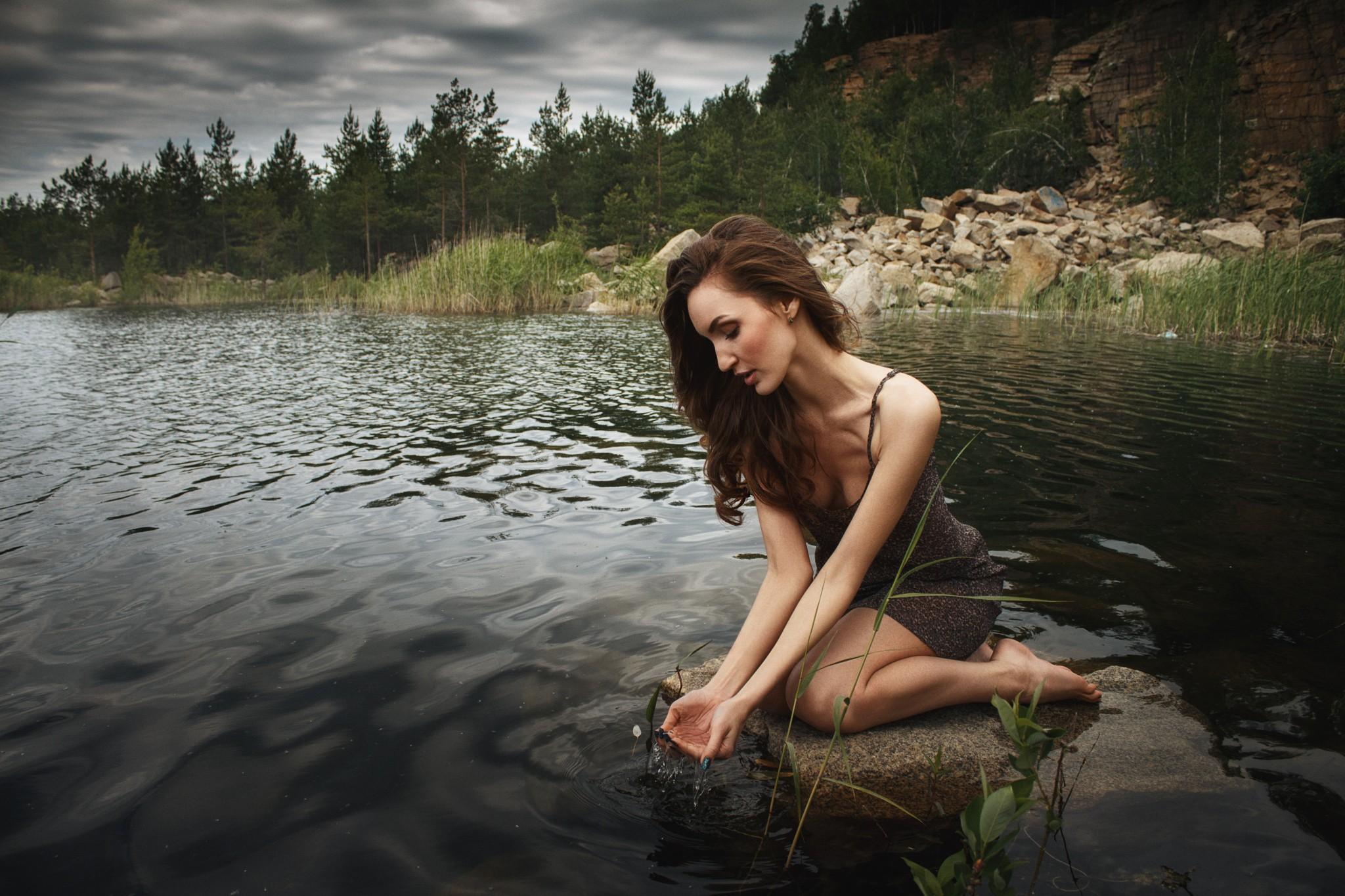 как сделать фотосессию у реки проявляться