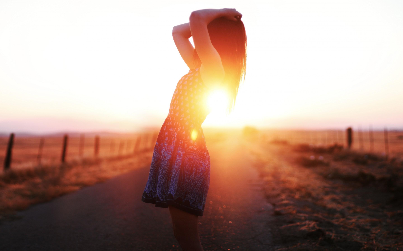 Солнечная картина для авы