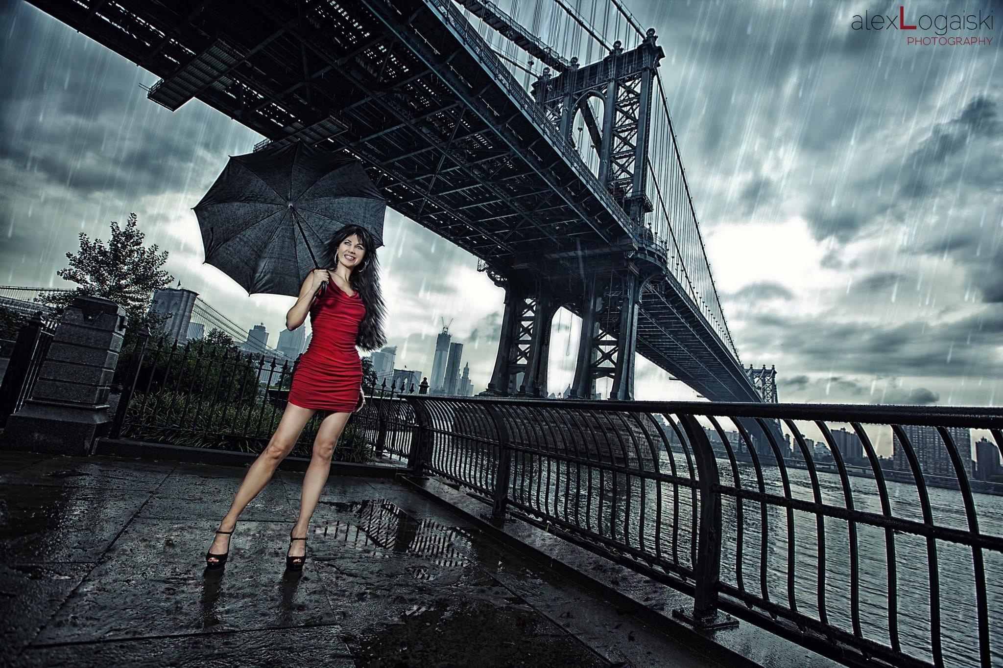 мост под дождем картинки скрывает