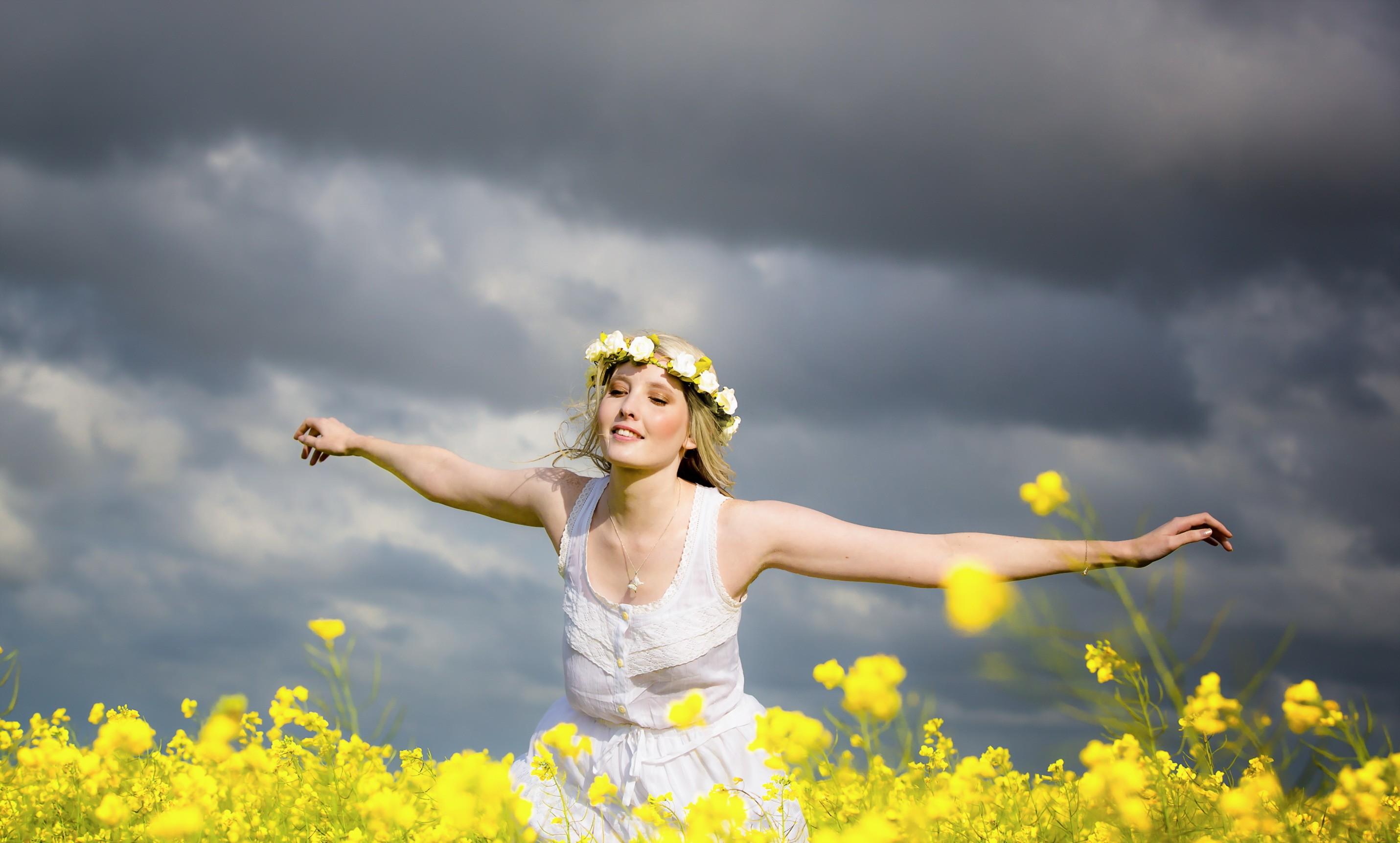 Радость женщина картинки