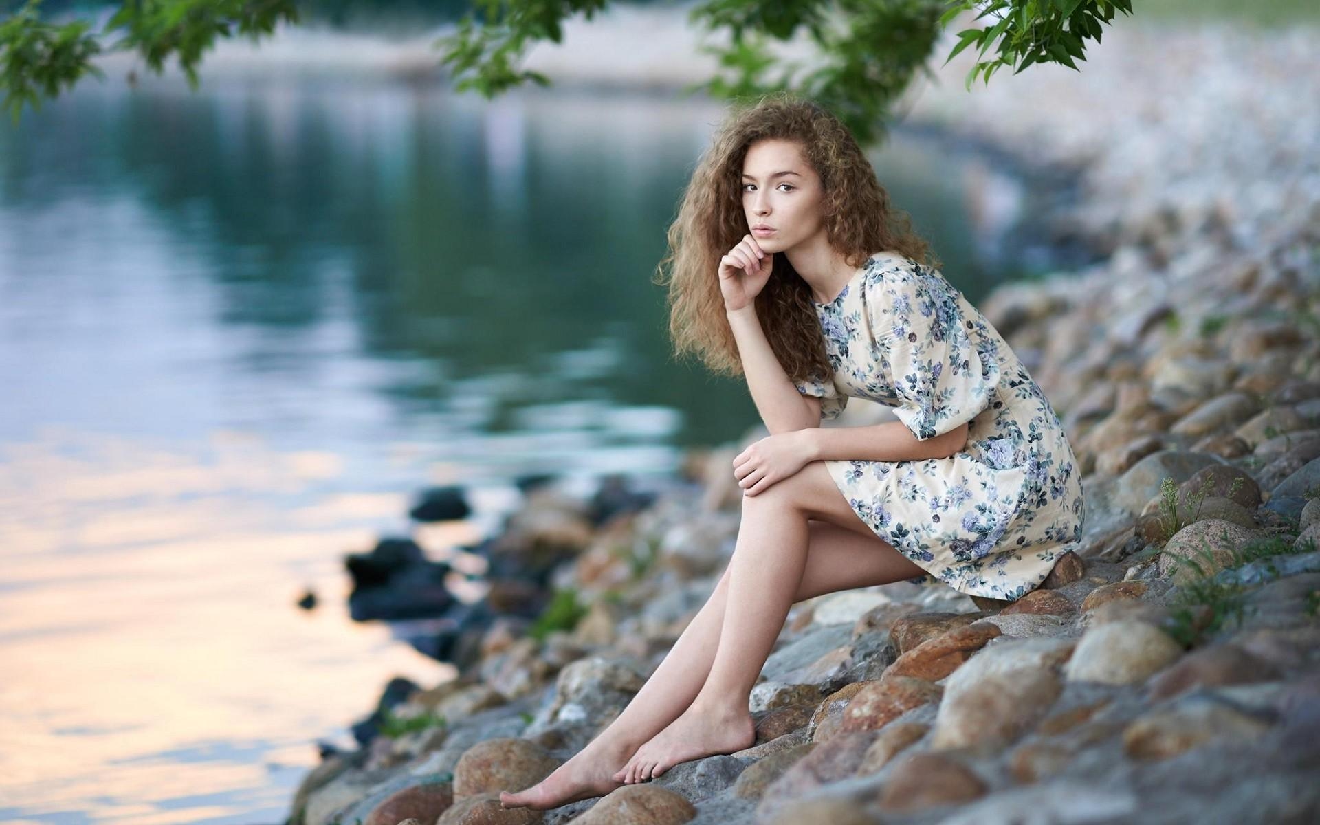 https://get.wallhere.com/photo/sunlight-women-outdoors-women-model-portrait-long-hair-lake-nature-barefoot-stones-legs-photography-dress-curly-hair-fashion-stone-spring-Person-Lisa-Alexanina-tree-girl-beauty-season-woman-leg-photograph-human-positions-portrait-photography-photo-shoot-51885.jpg