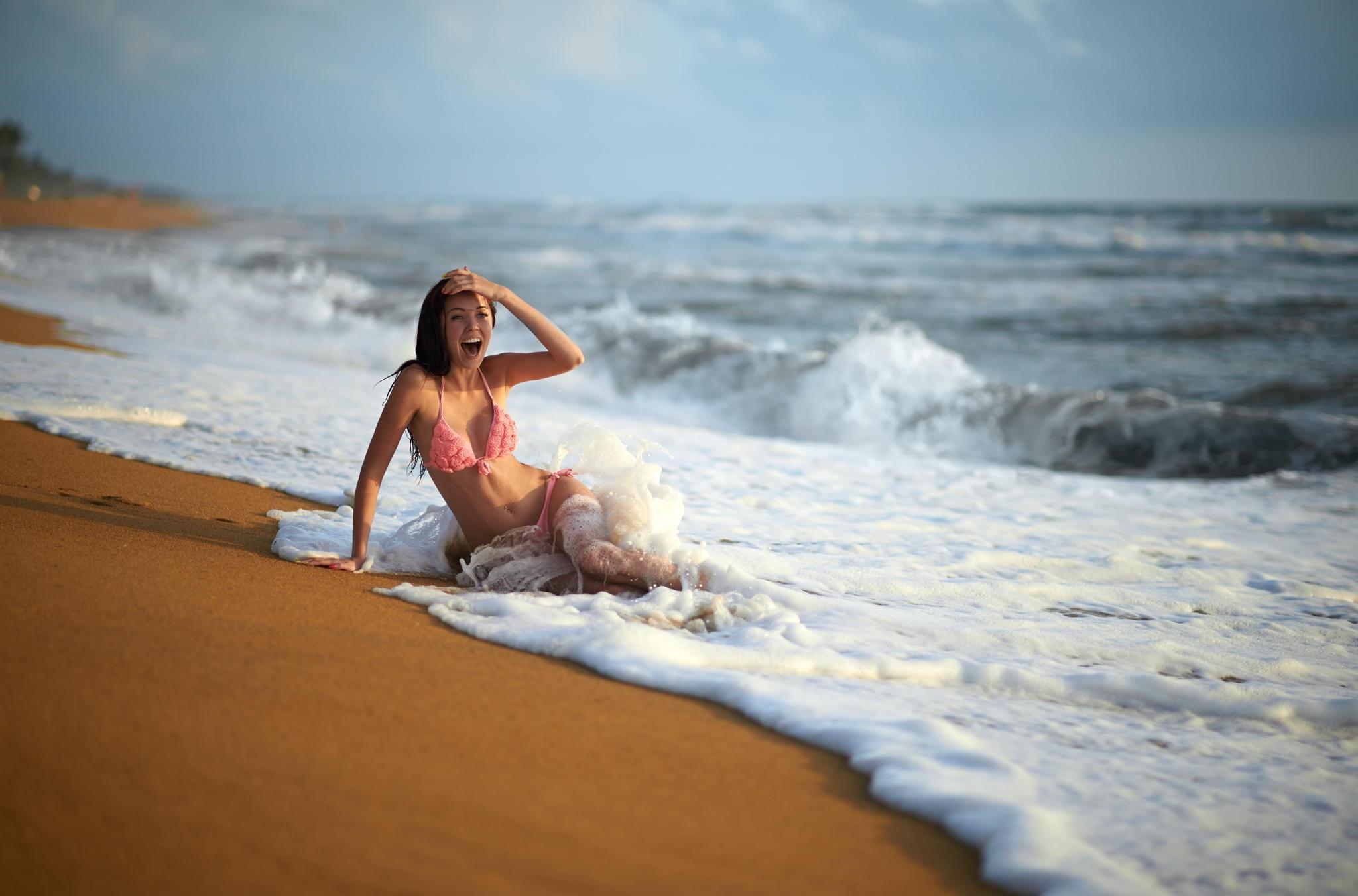 Как сделать красивое фото на море если ты полная 573