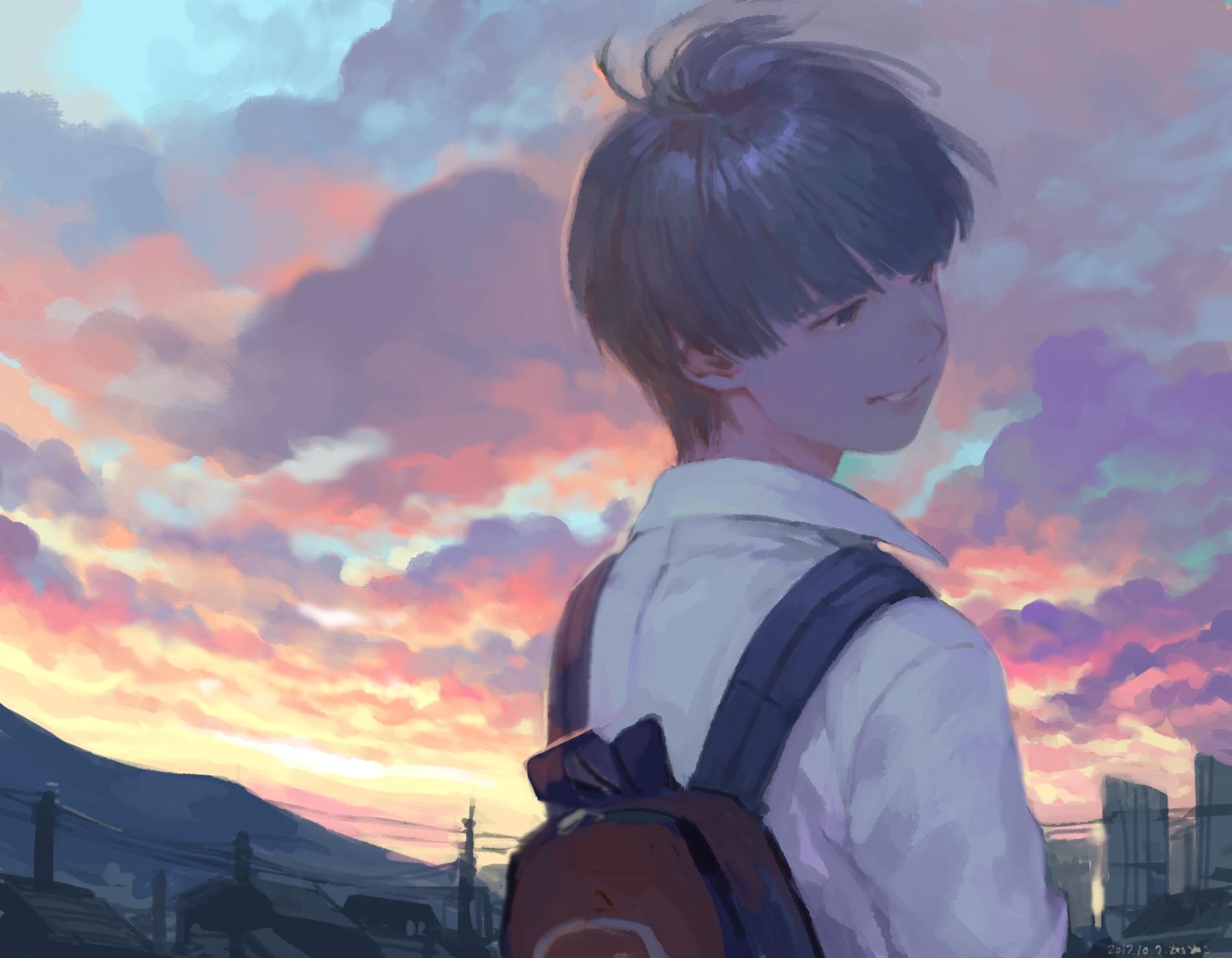 Contoh Soal Dan Contoh Pidato Lengkap Anime Boy Wallpaper