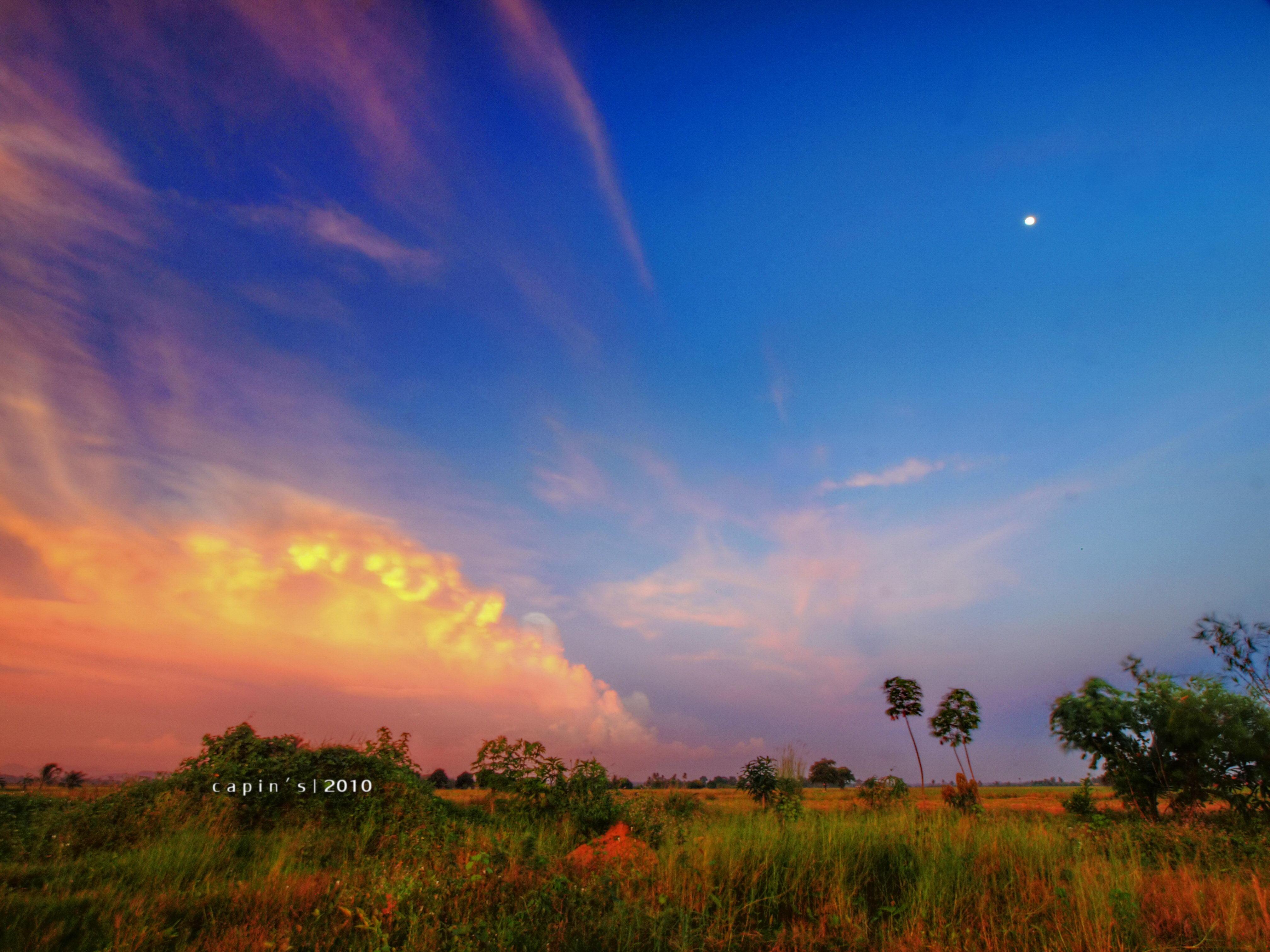 Sunset Backyard Scenery Fantasy Finalfantasy HDR Senja Capin Xenocapin 918mm