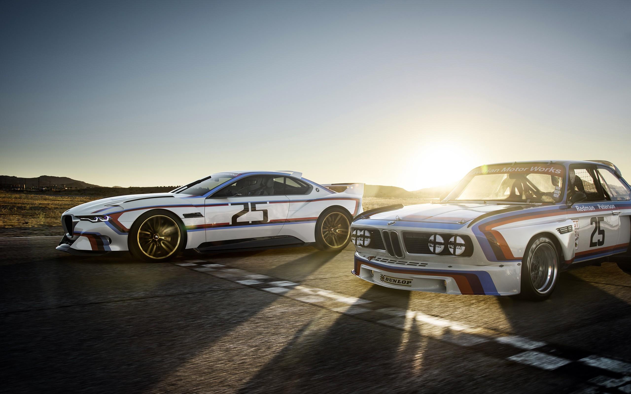 Wallpaper Sunset Concept Cars Sports Car Bmw 3 0 Csl
